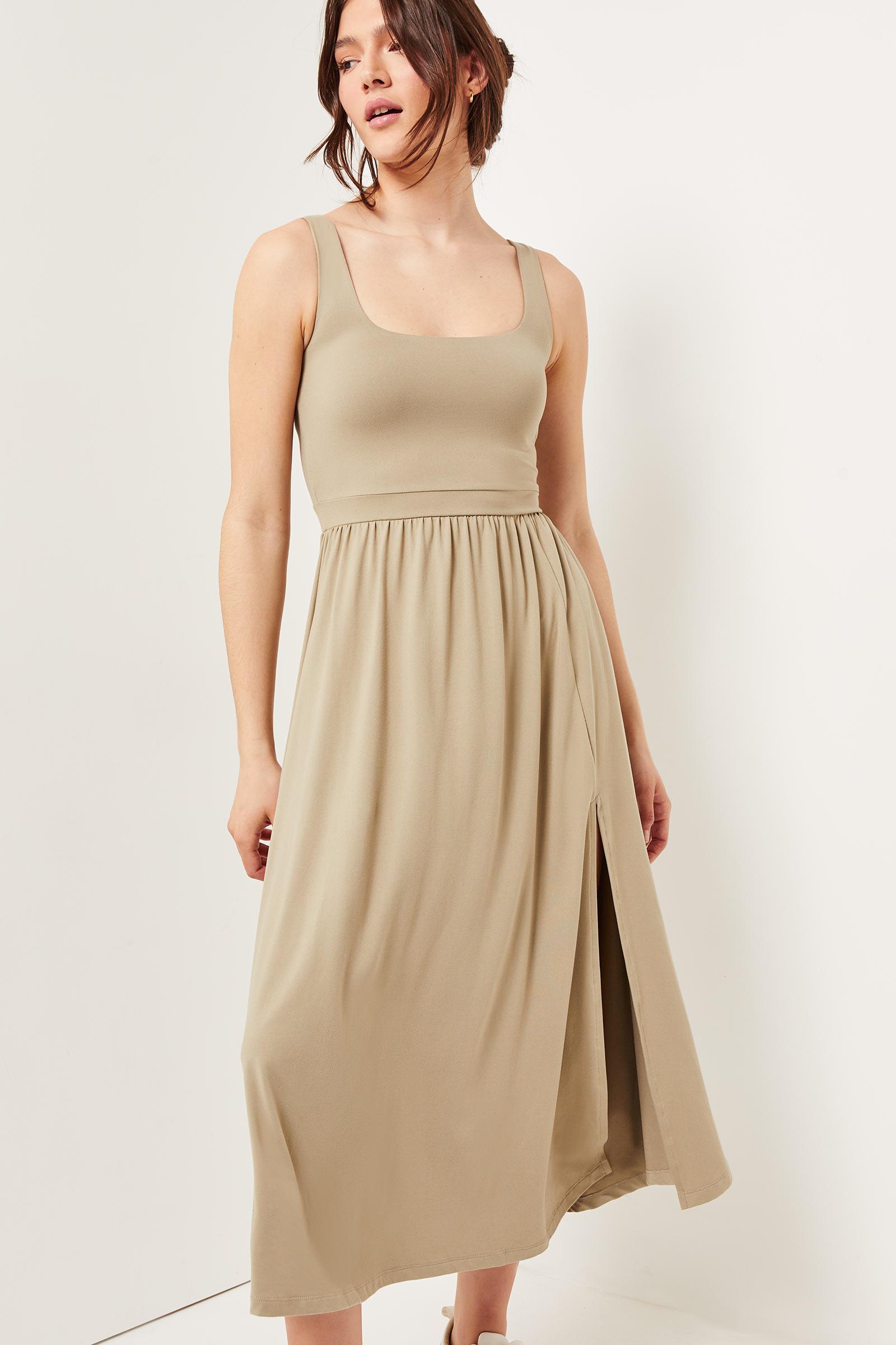 Basic Midi Softie Dress