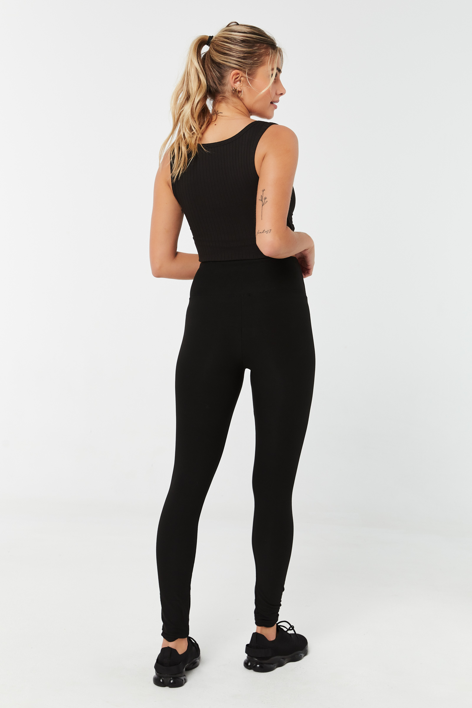 Super Soft Leggings with Wide Waistband