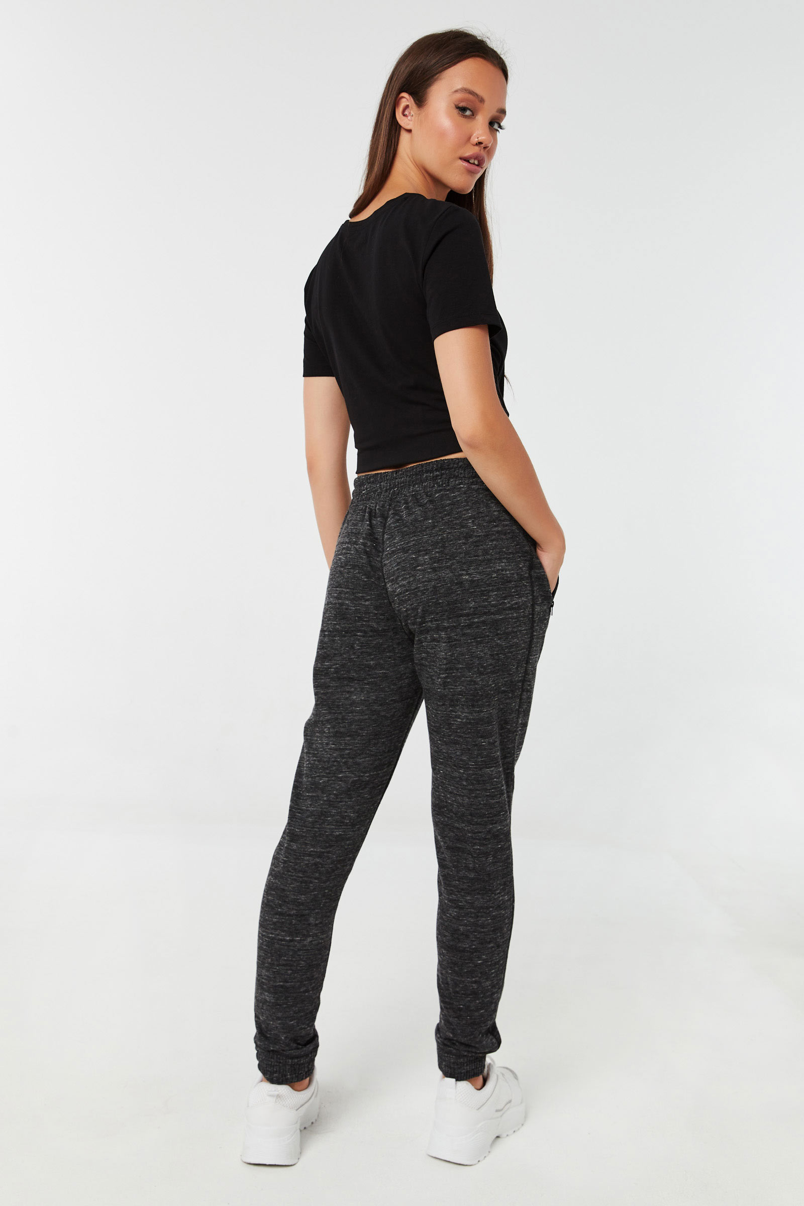 French Terry Slim Fit Joggers