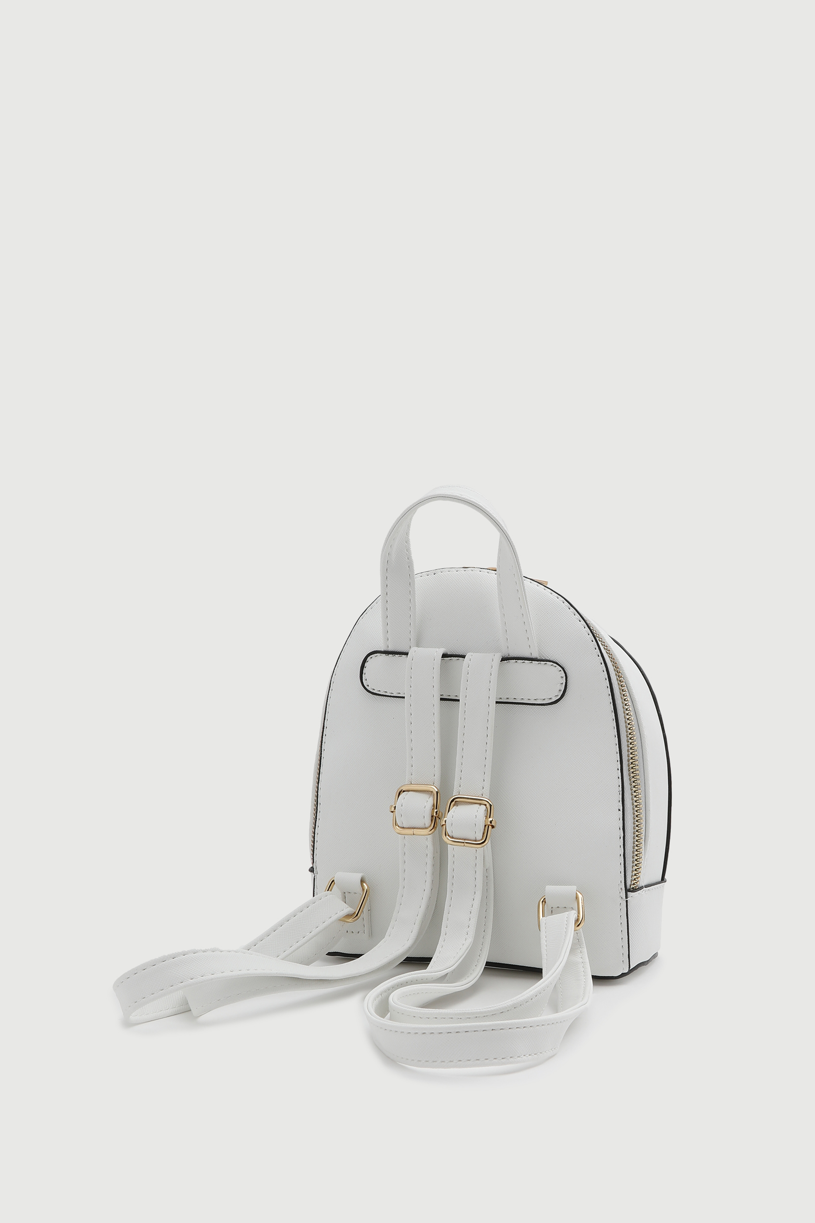 Mini Backpack with Floral Detail