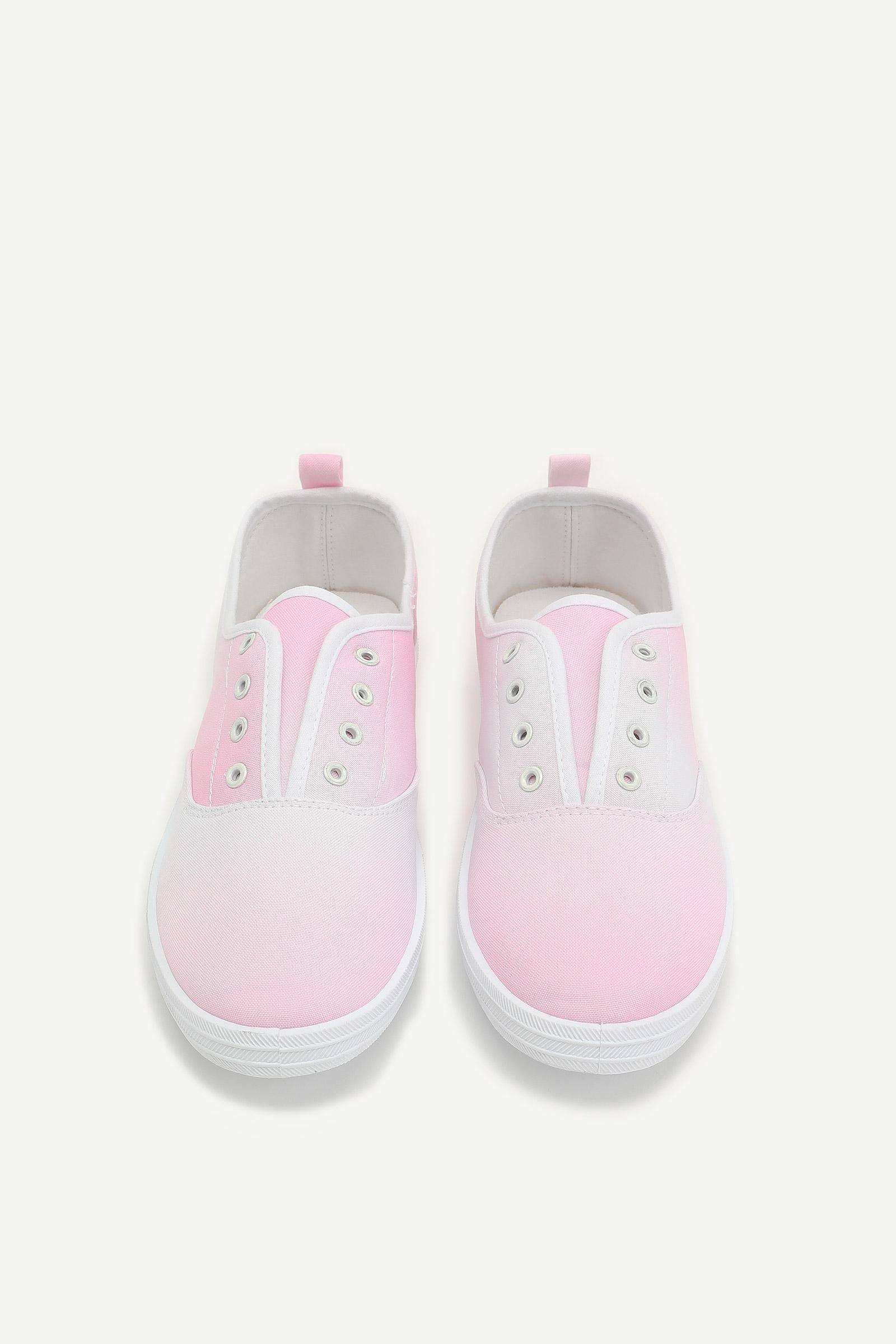 Tie-Dye Denim Sneakers