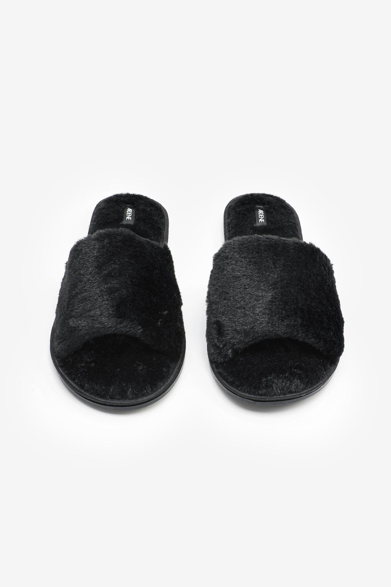 Faux Fur Slide Slippers
