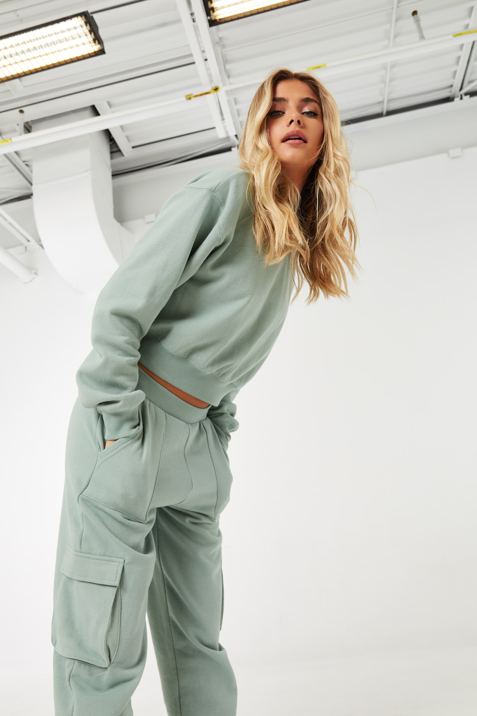 Slouchy Cargo Joggers