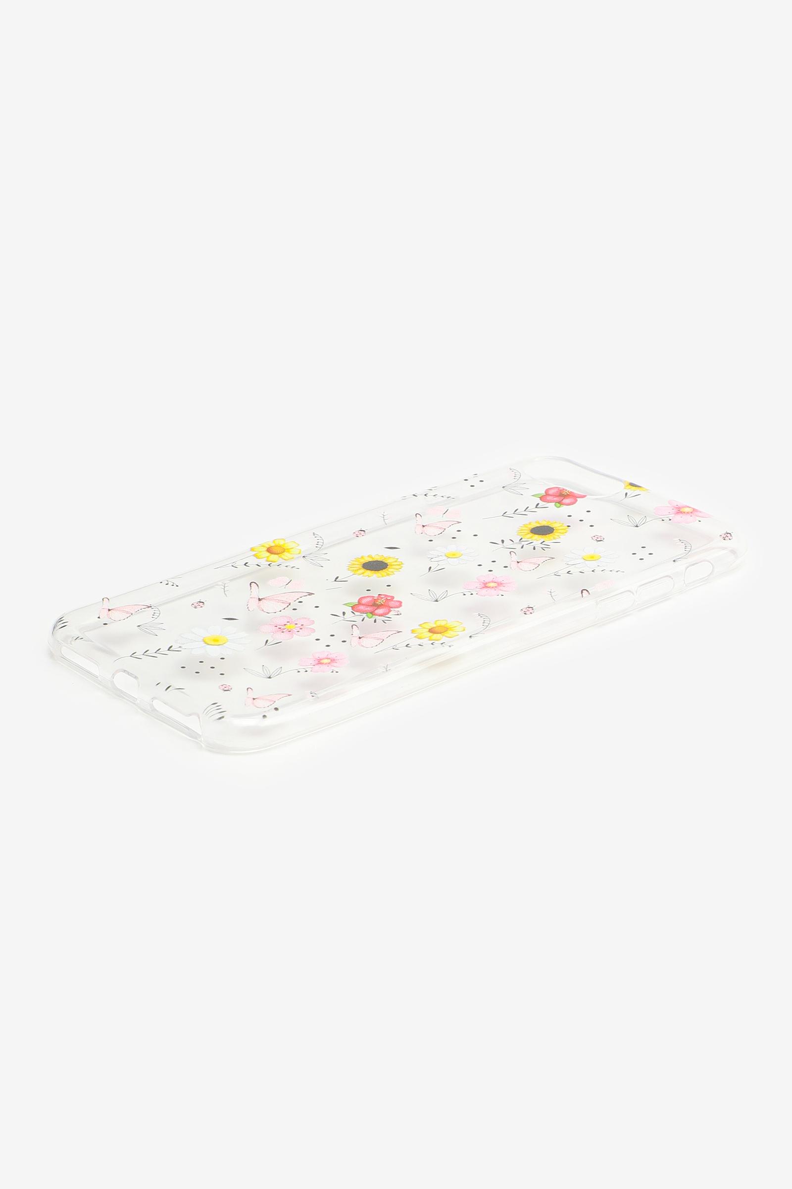Étui d'iPhone 6/7/8 fleurs et papillons