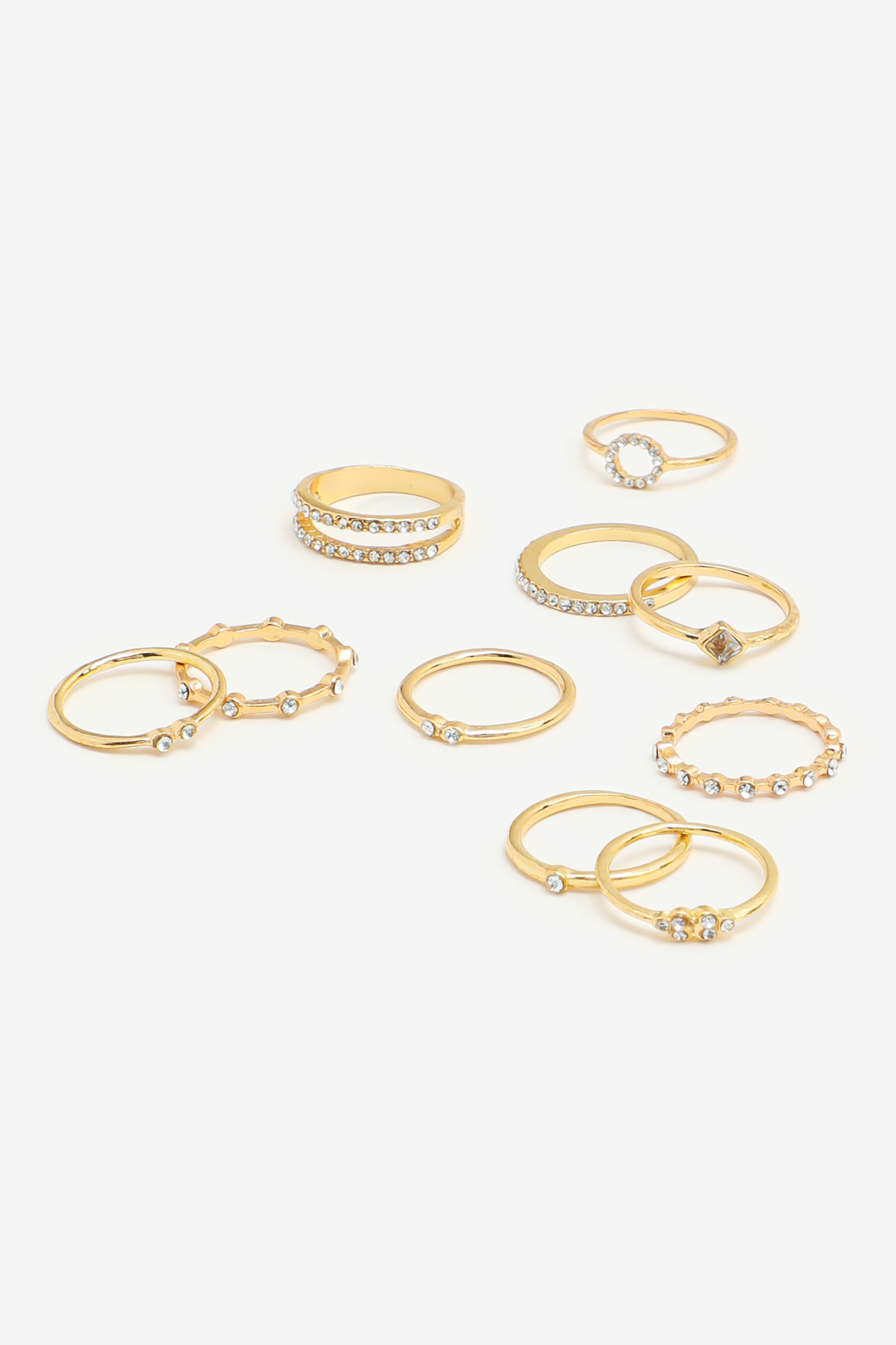 Assorted Rings with Stones