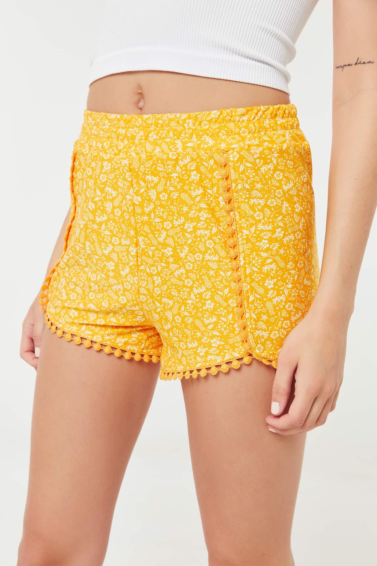 Floral Super Soft Shorts