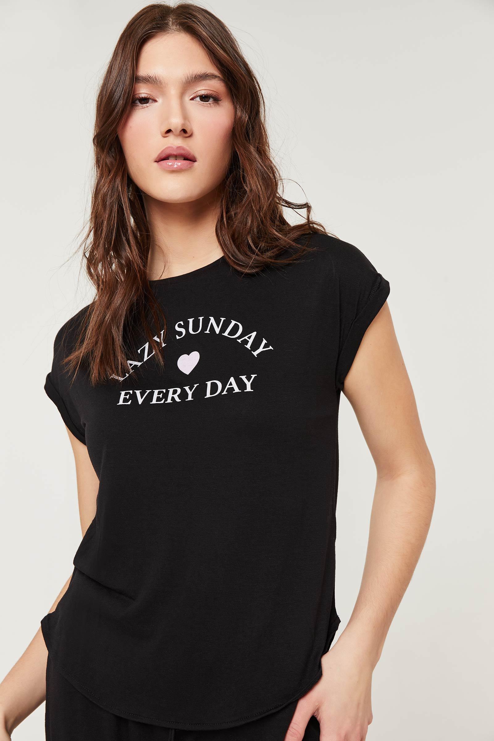 T-shirt pyjama Lazy Sunday