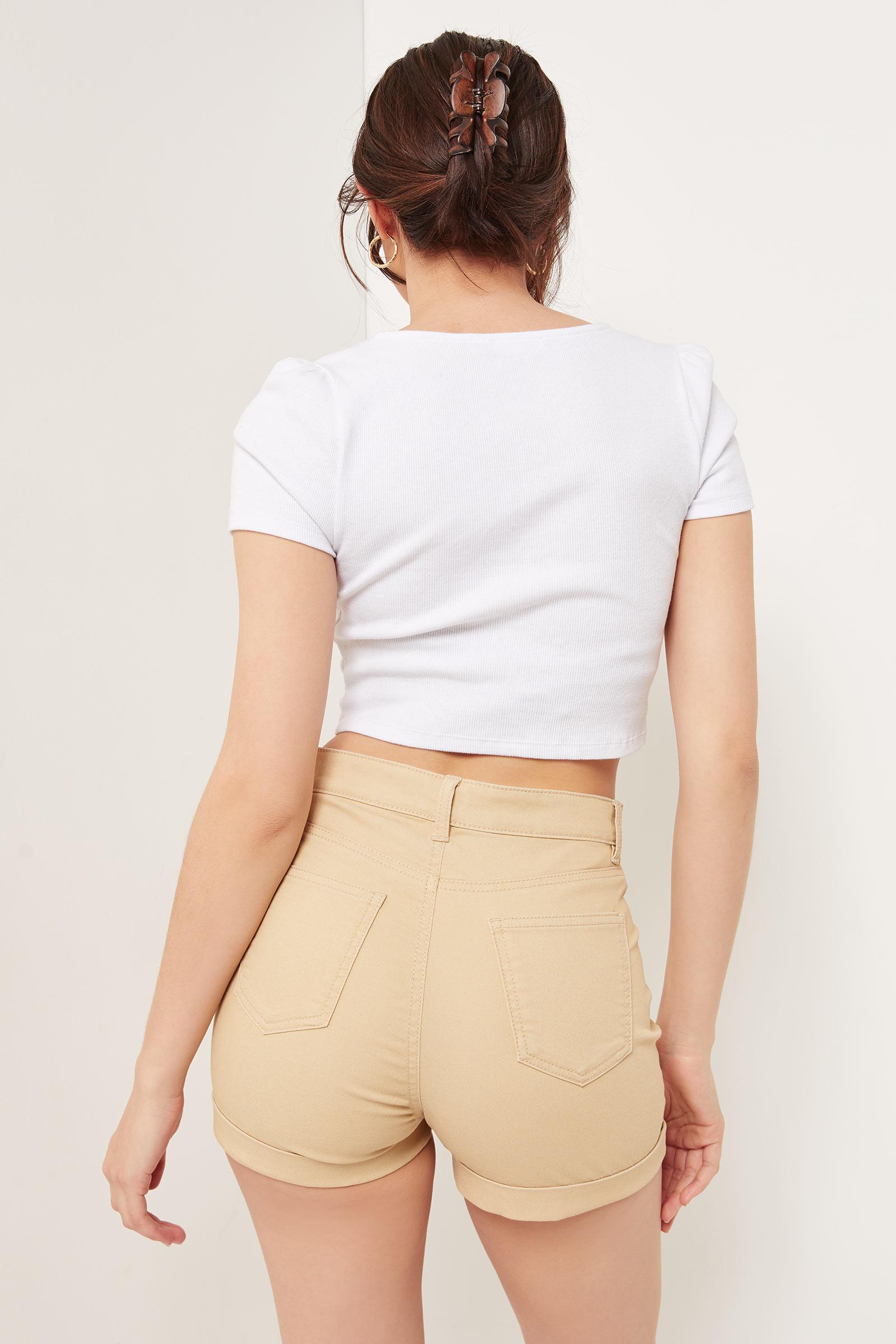 Short taille ultra haute Basic