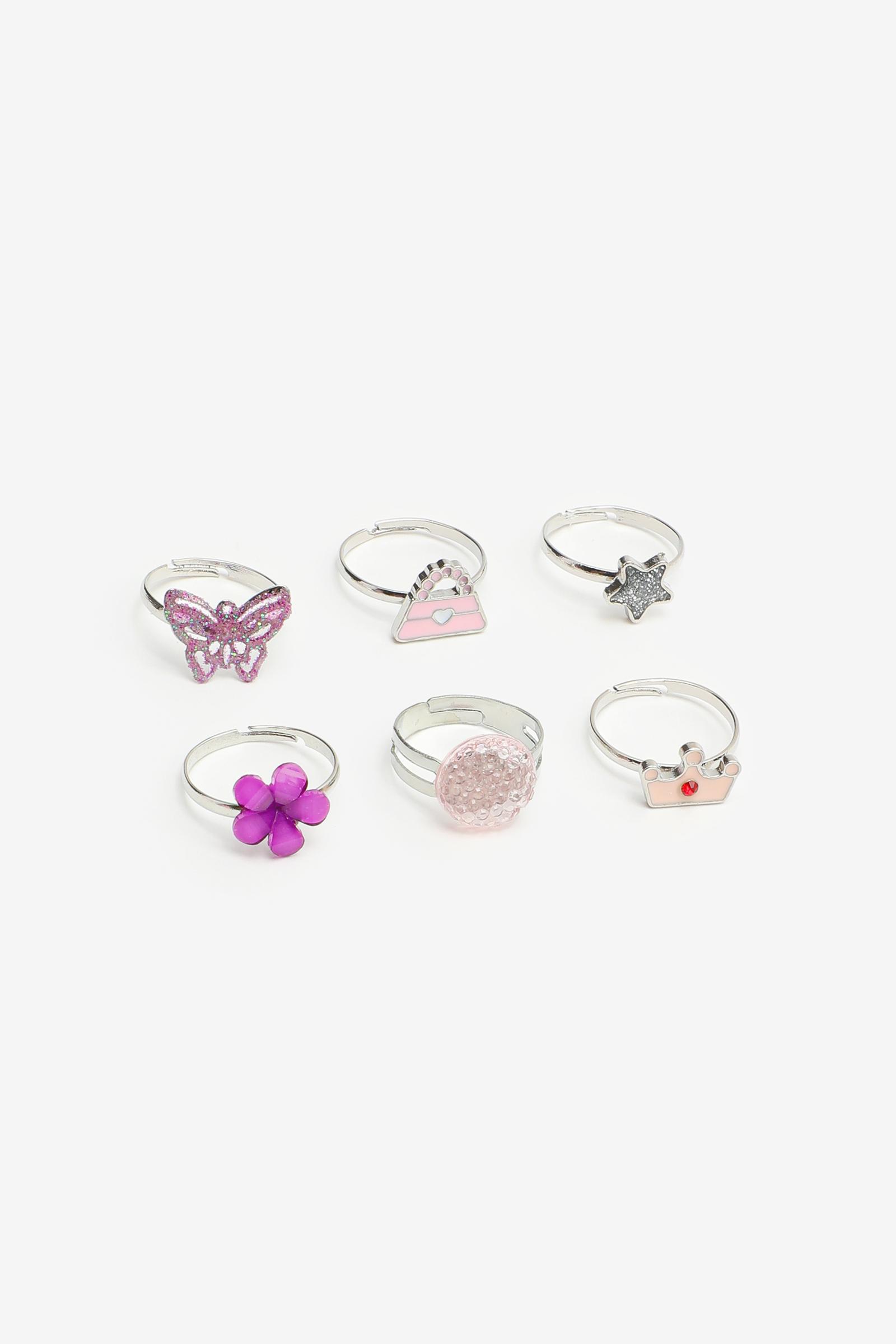 Rings in a Flower for Girls