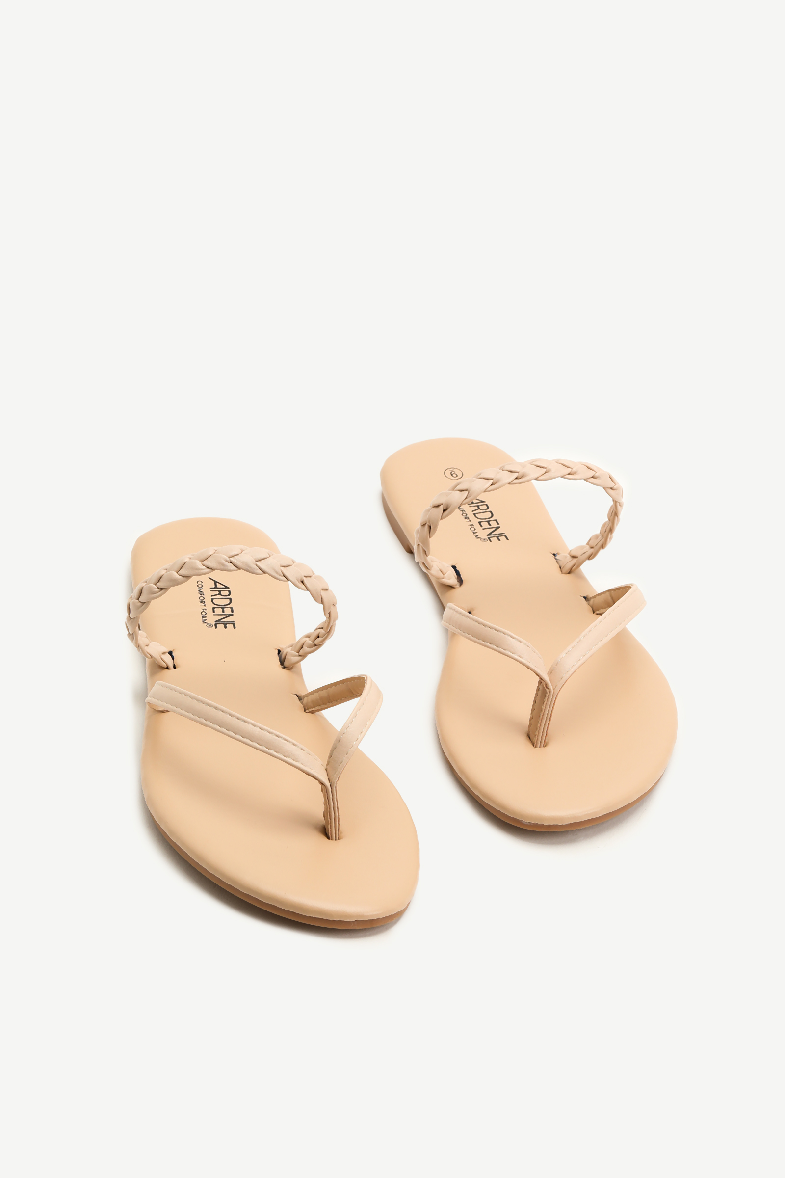 Braided Strap Flip-Flops