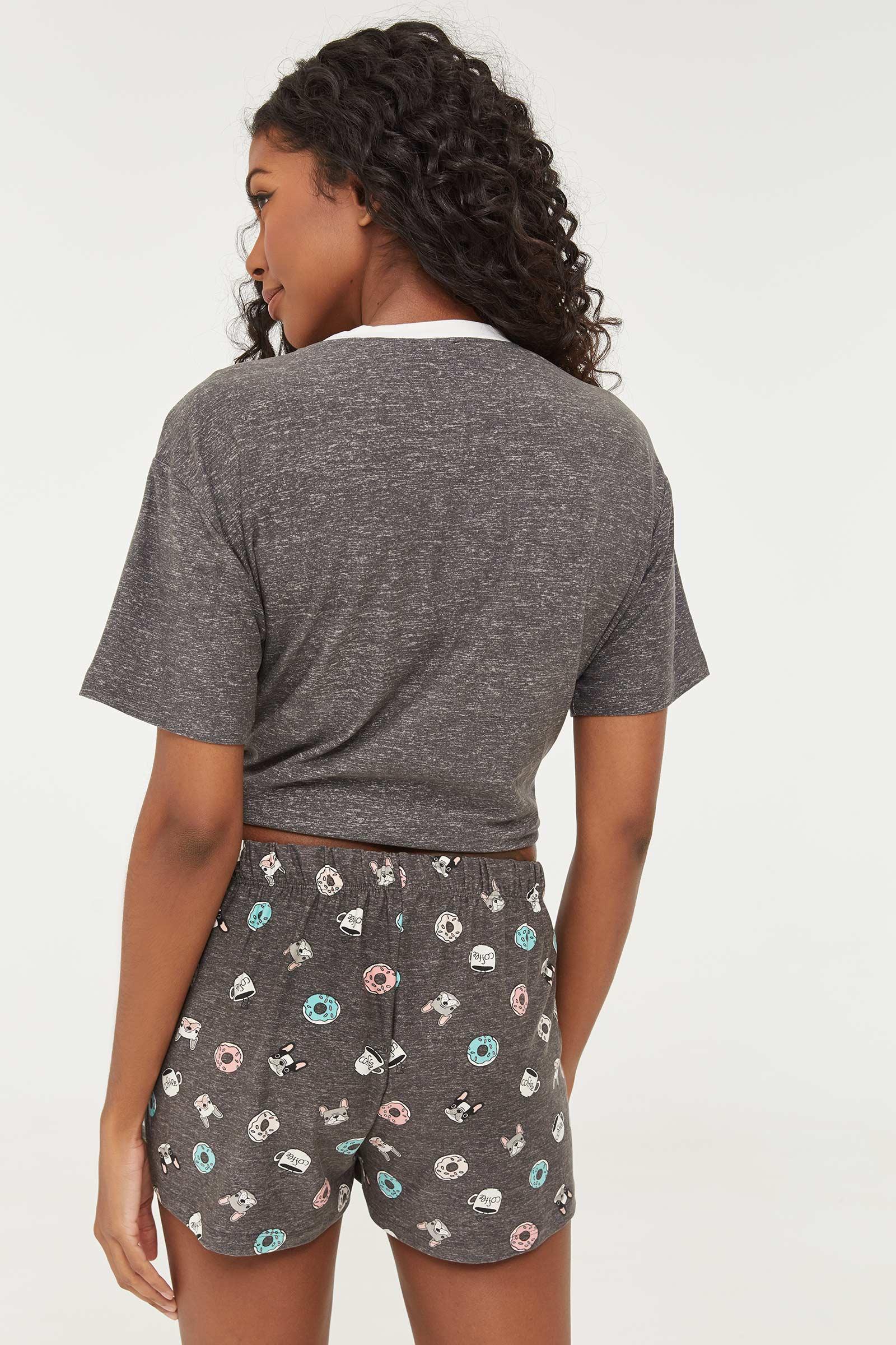 Printed PJ Shorts