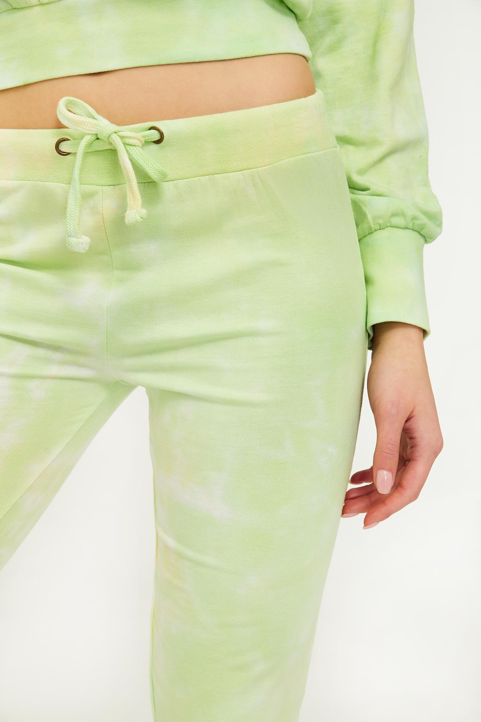 Green Tie-dye Joggers