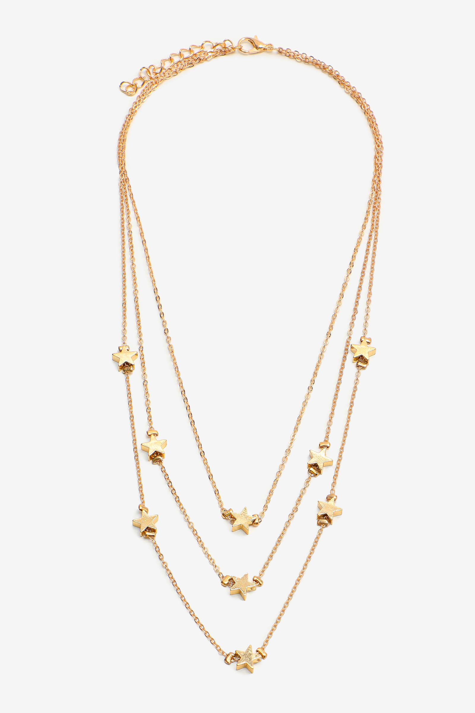 3-Layer Star Necklace