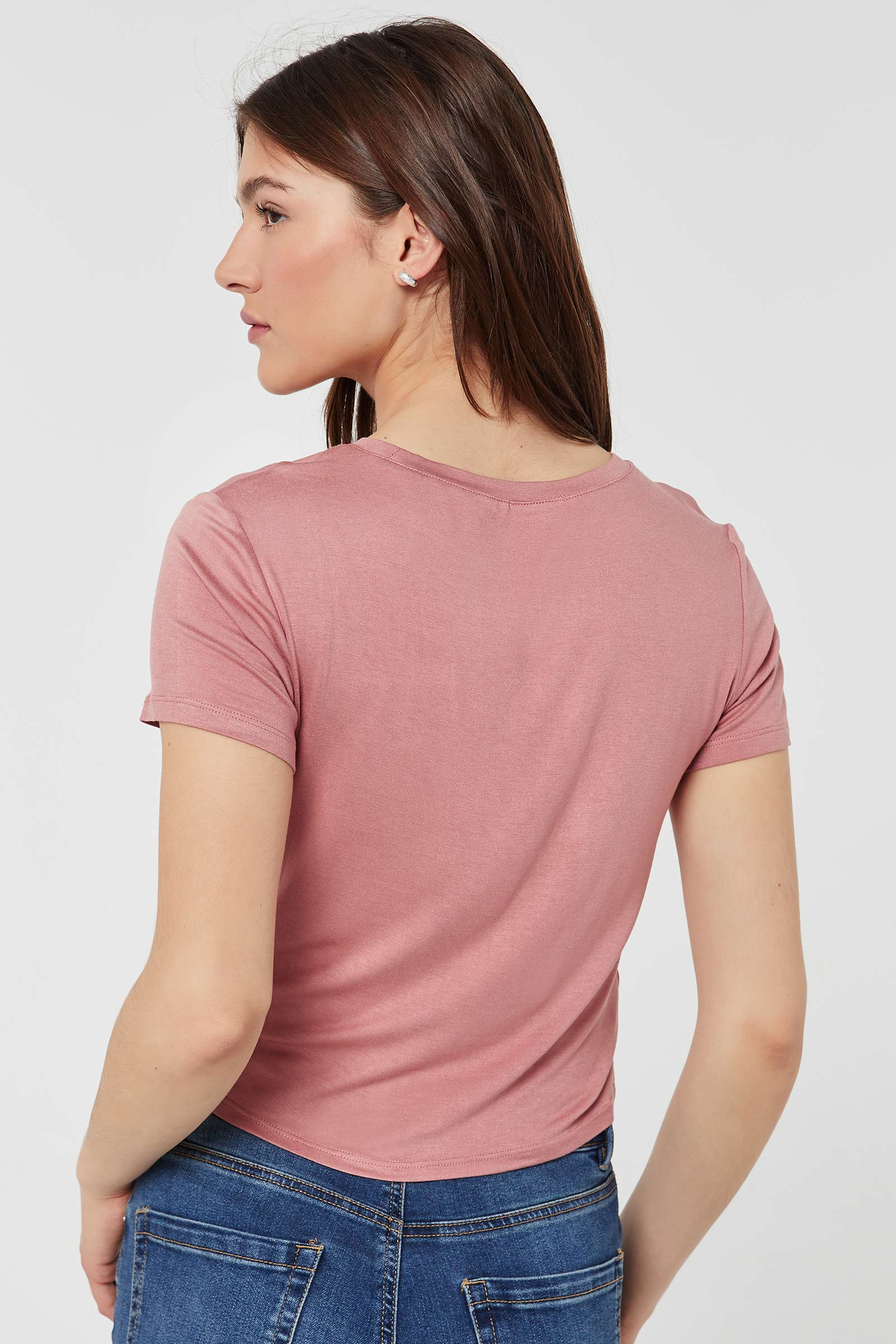 T-shirt torsadé