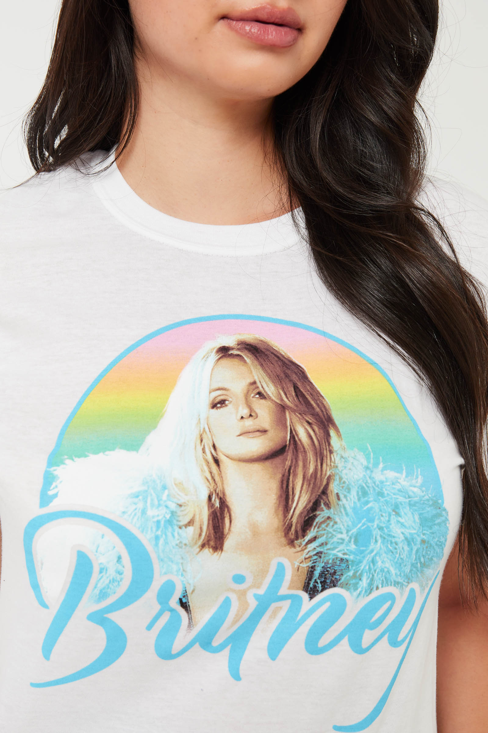 Rainbow Britney Spears Tee