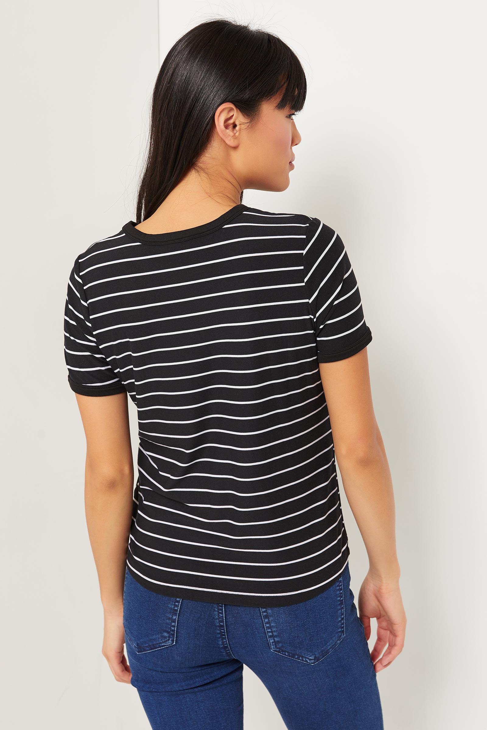T-shirt très doux à rayures