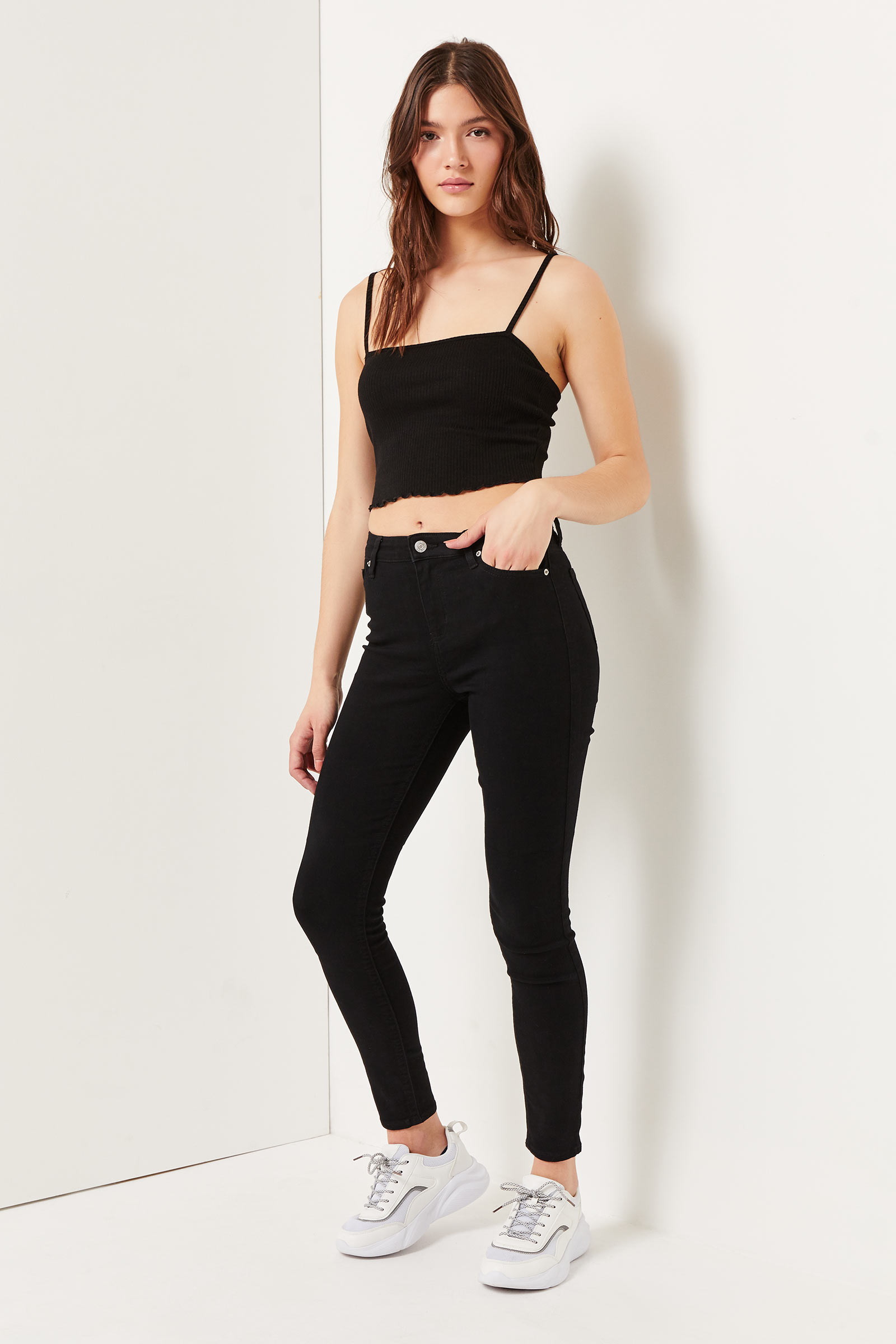 Eco-conscious Sustainable Fabric Jeggings