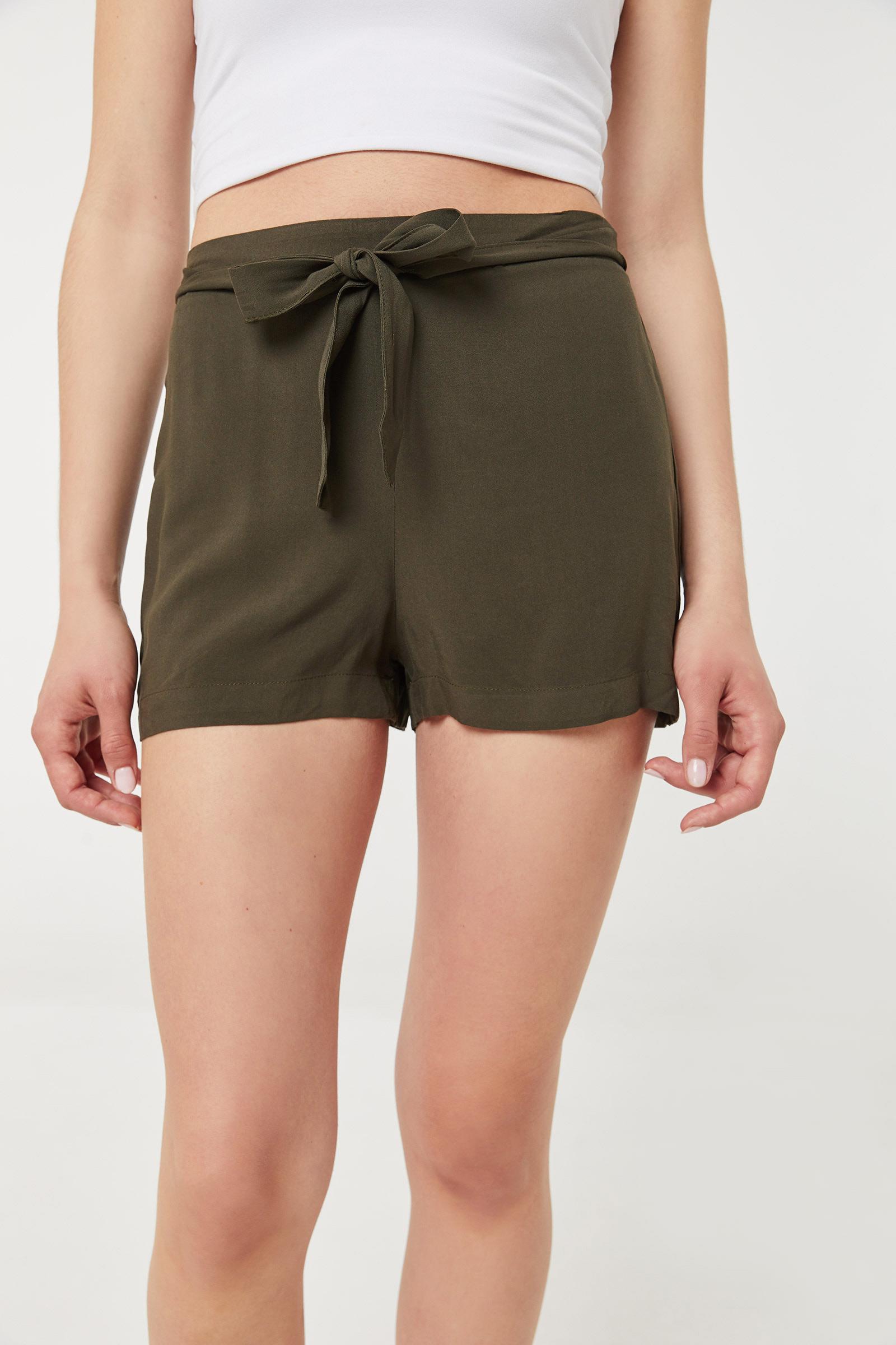 Basic Self-Tie Shorts