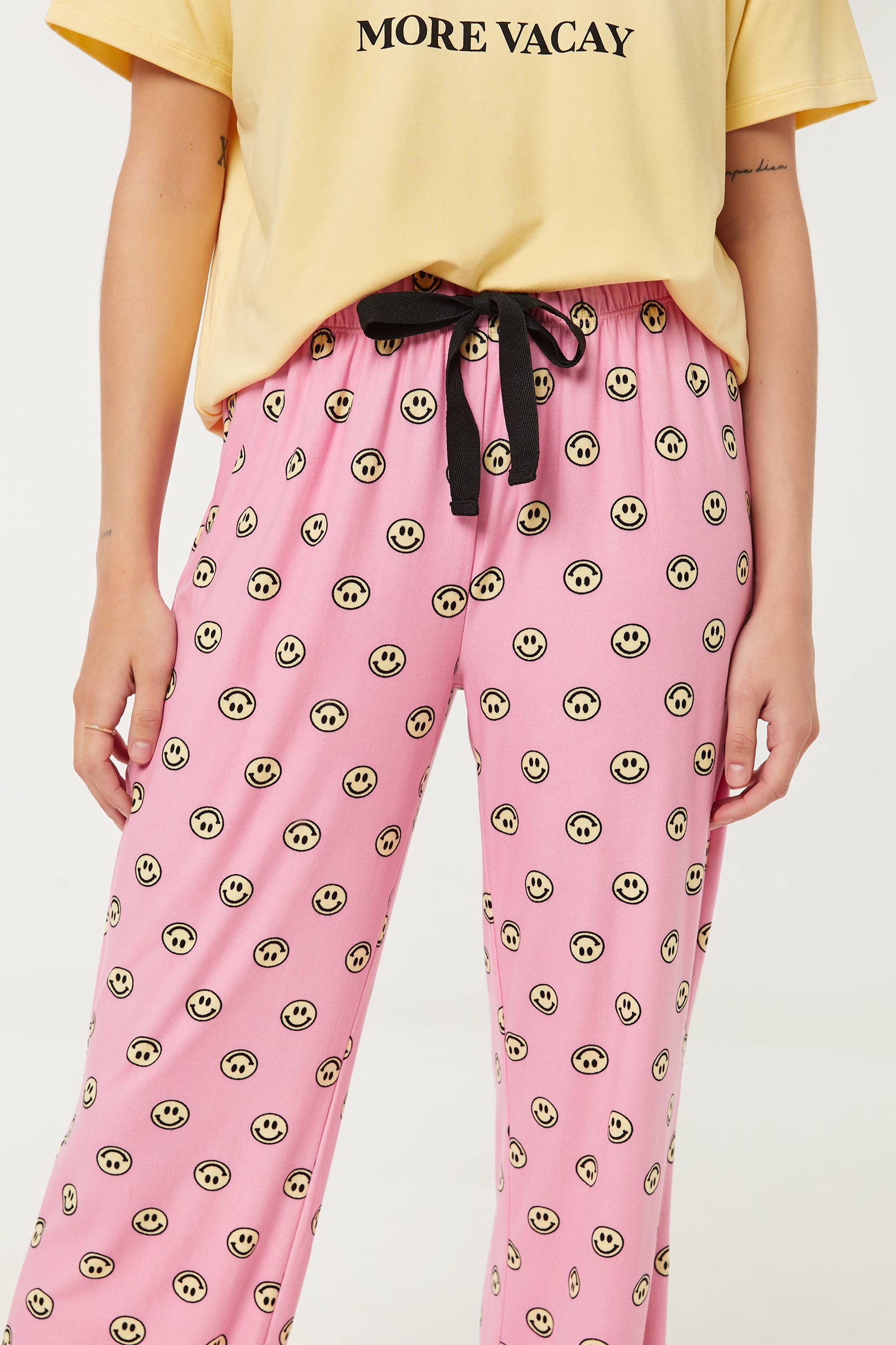 Pantalon pyjama bonhomme sourire
