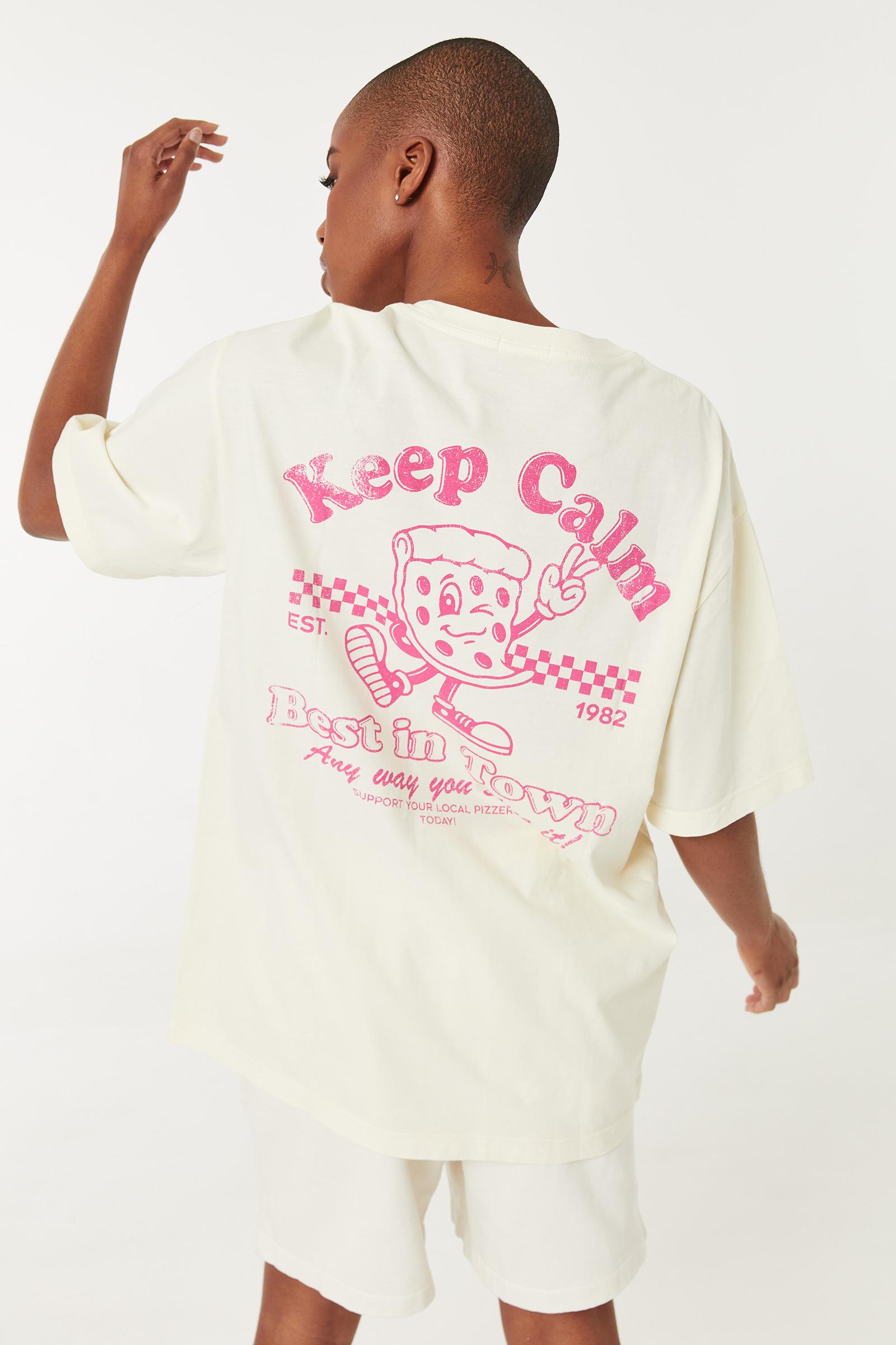 Keep Calm Boyfriend Tee