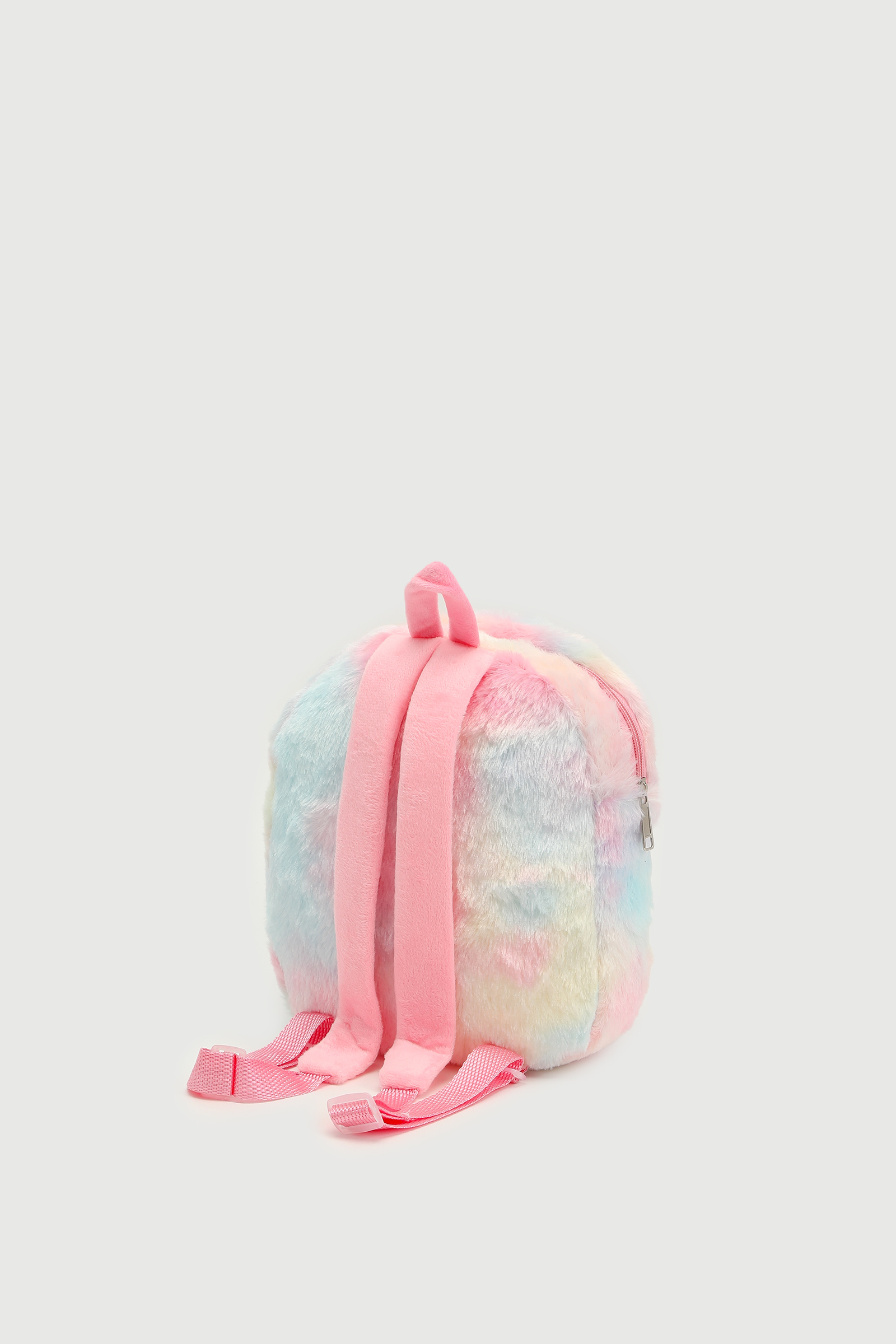 Faux Fur Unicorn Backpack for Girls