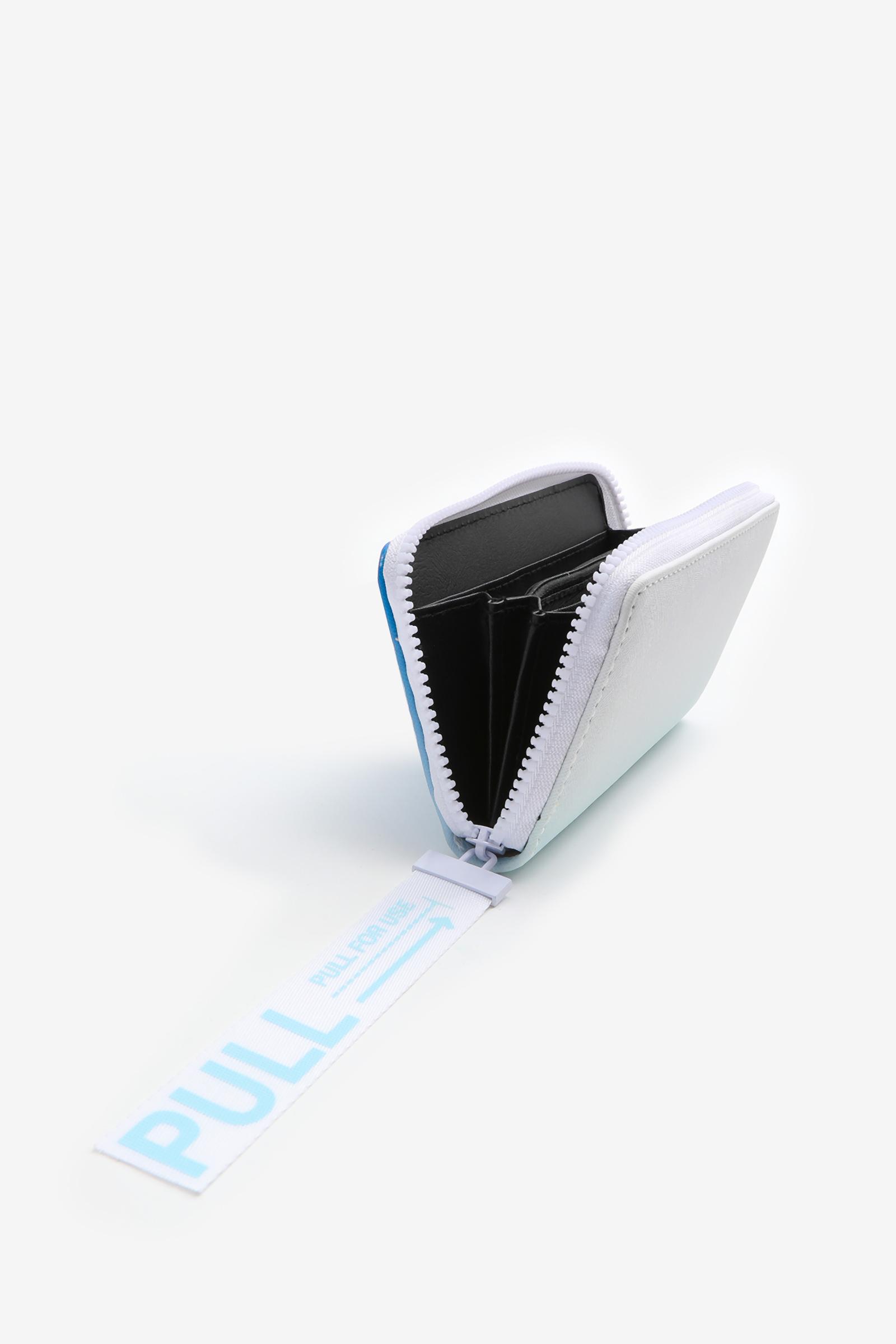 Portefeuille accordéon ombré