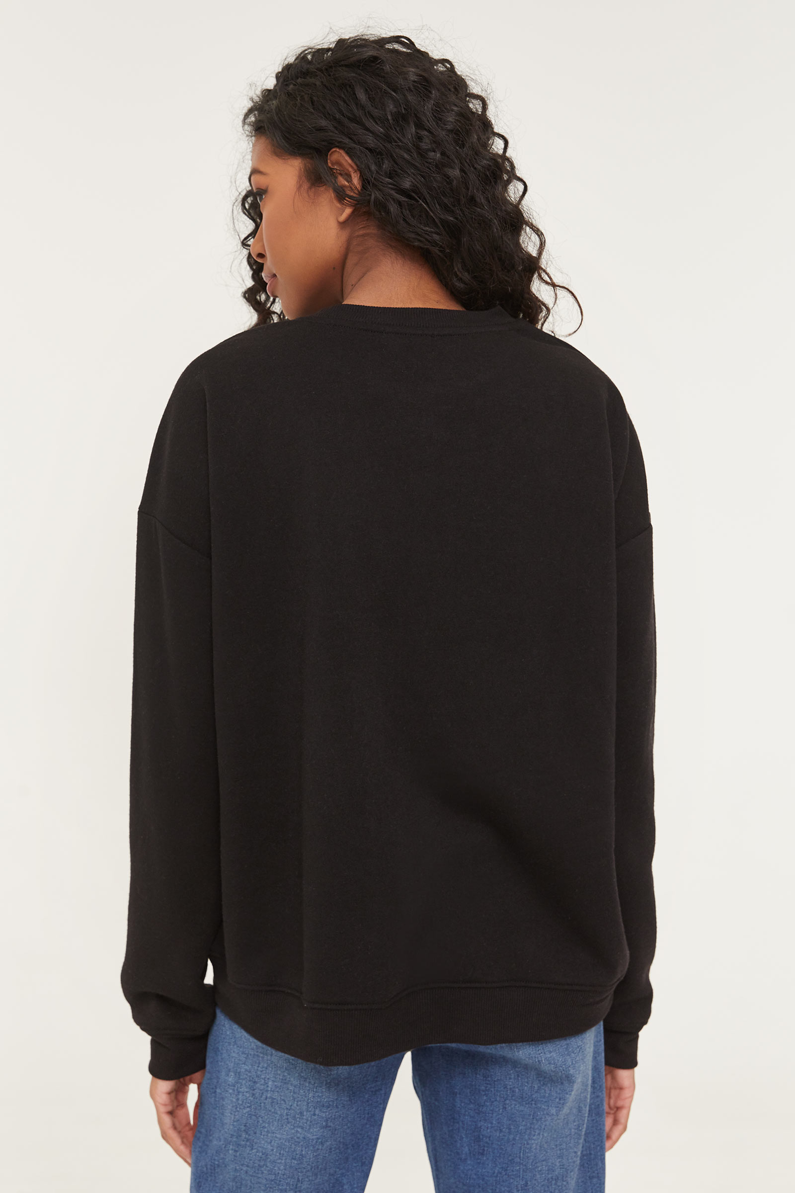 Flower Print Sweatshirt