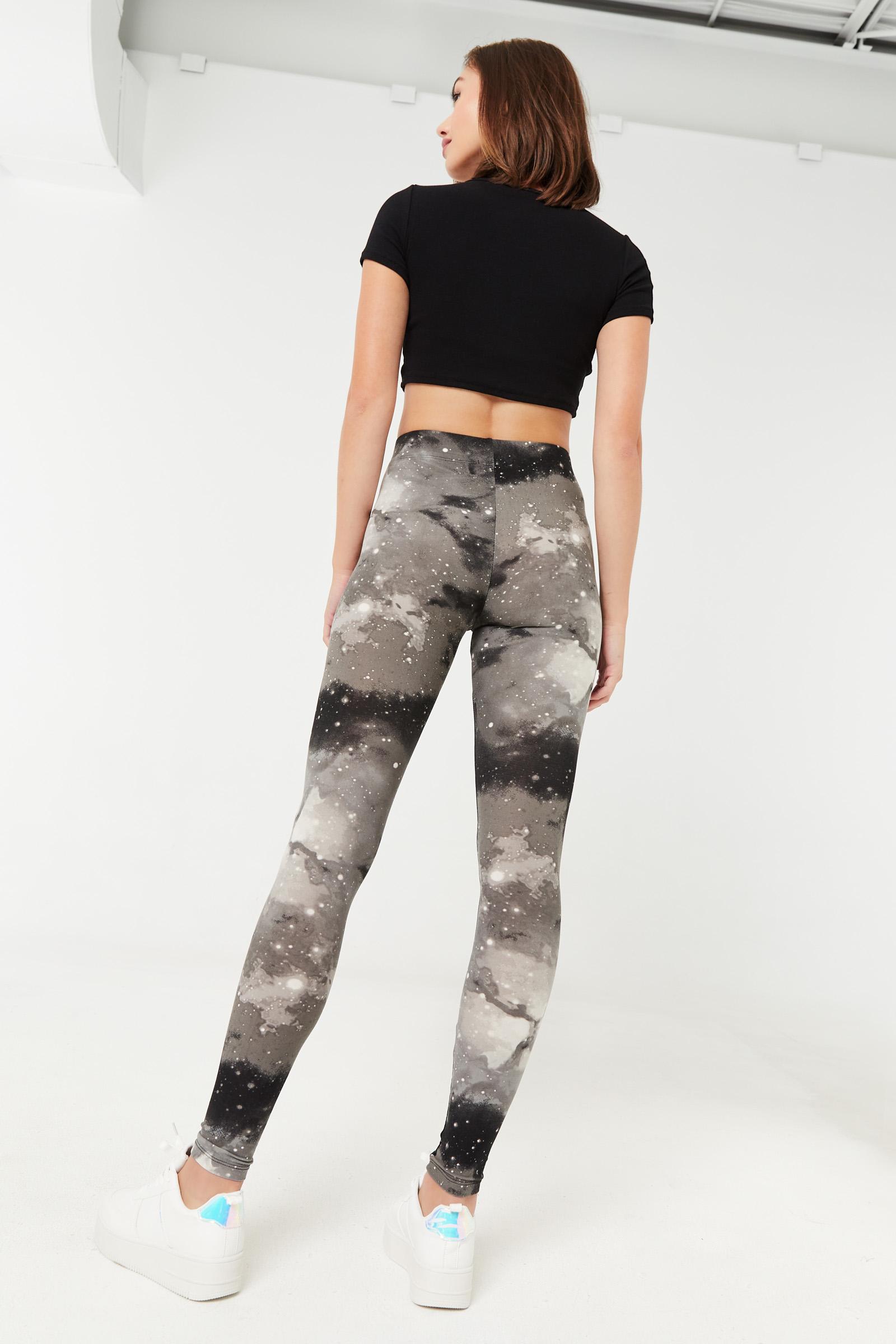 Black Galaxy Super Soft Leggings