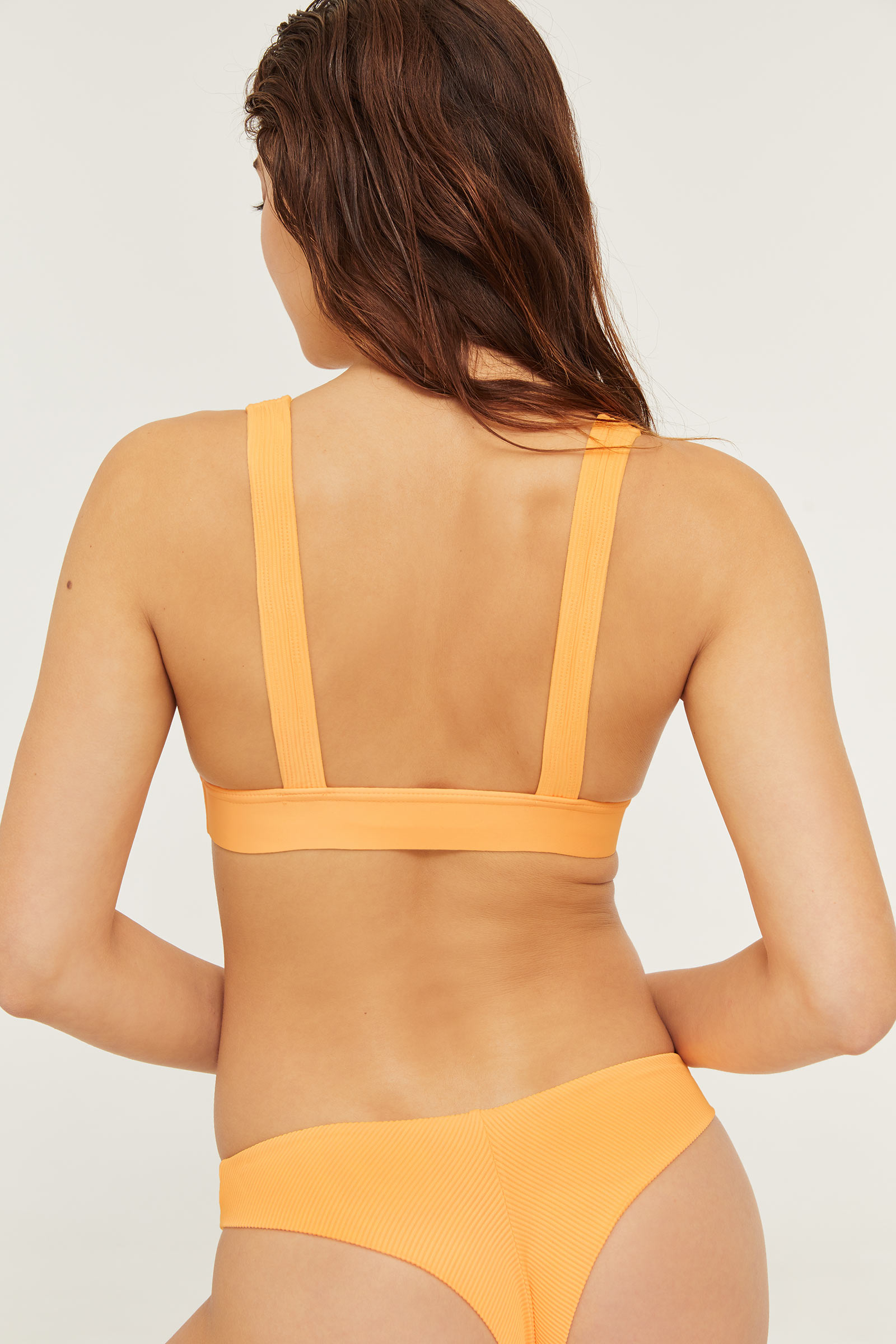Ribbed Bare Bikini Bottom