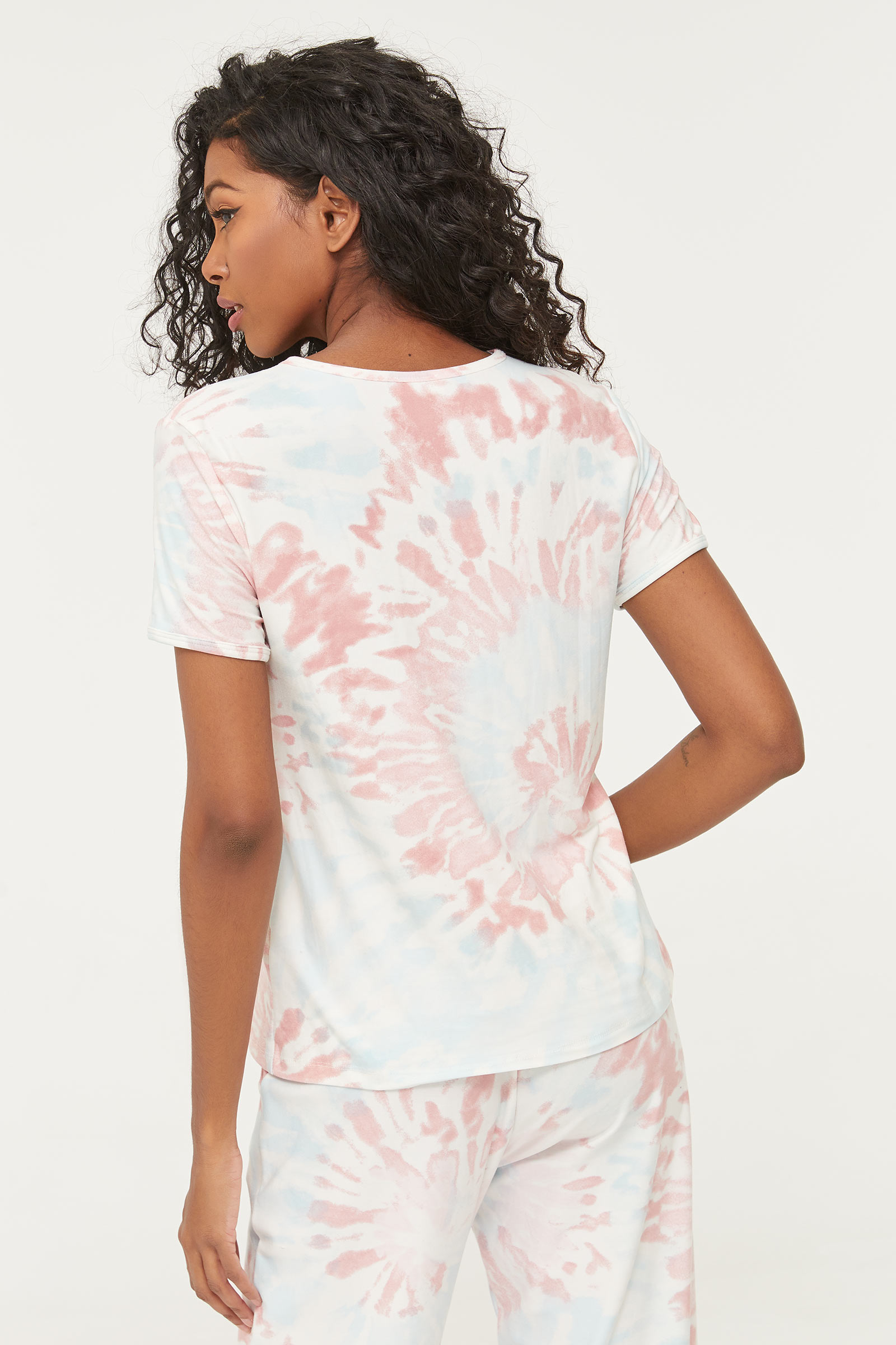 T-shirt pyjama tie-dye éco-conscient