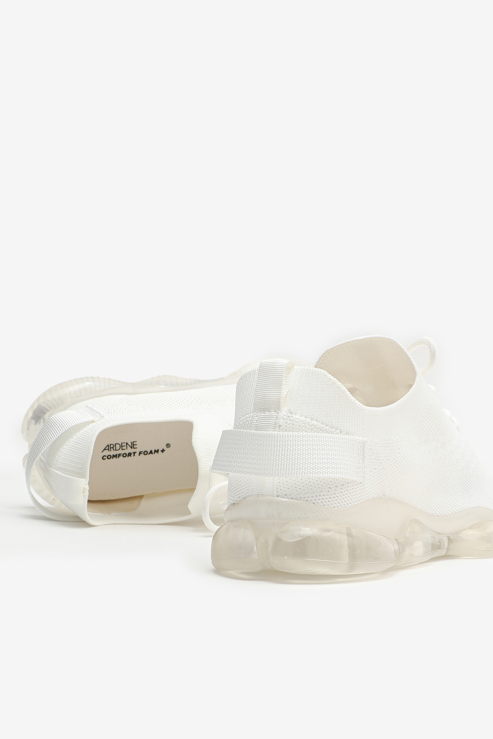 Chunky Clear Outsole Sneakers