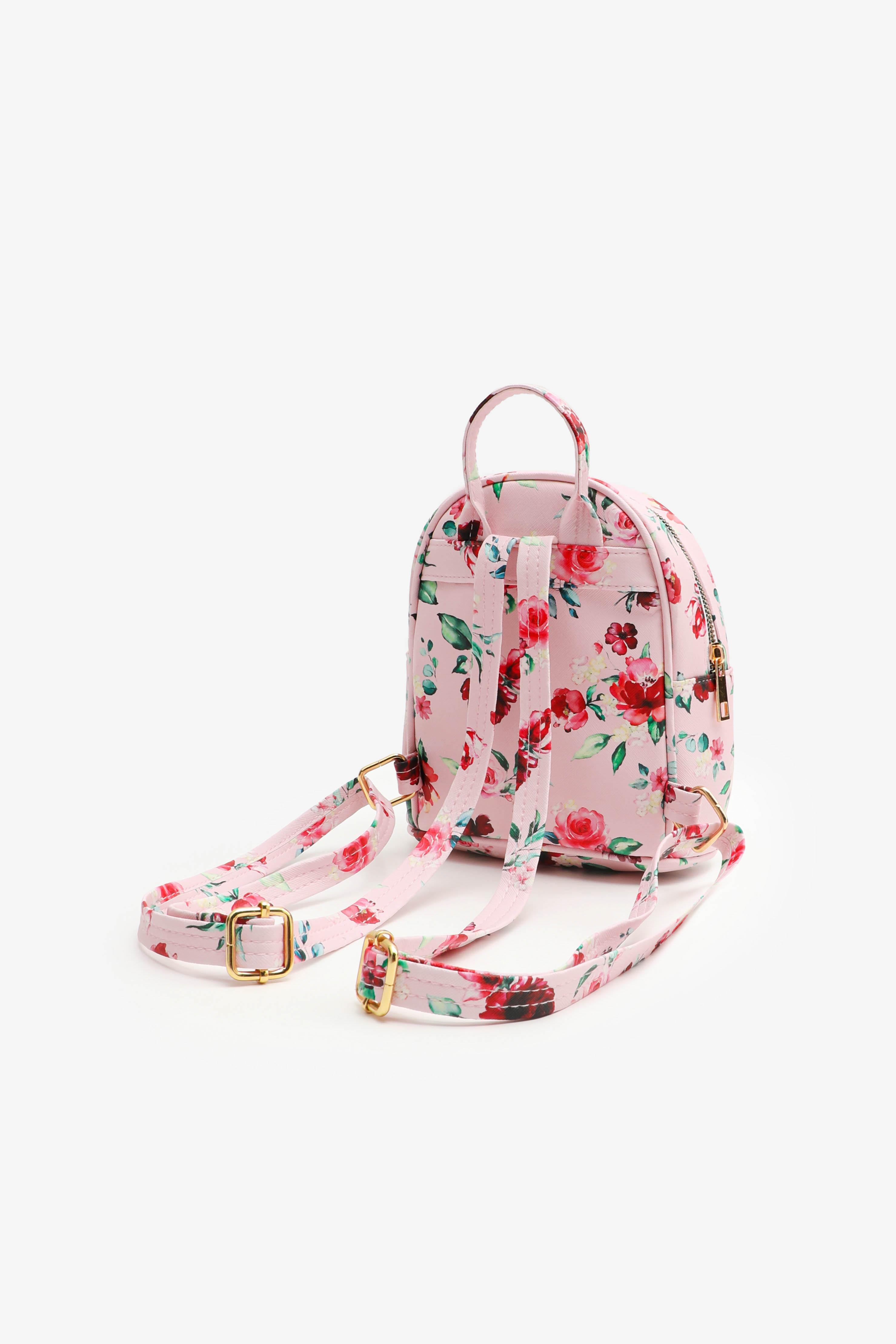 Floral Backpack for Girls