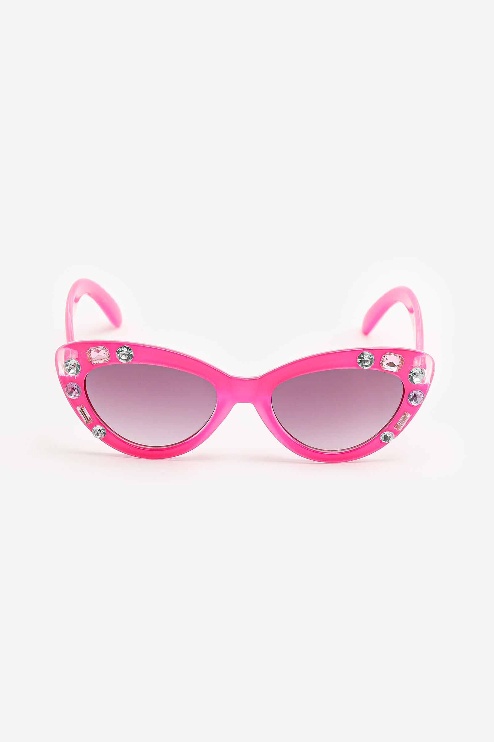 Jeweled Cat Eye Sunglasses for Kids