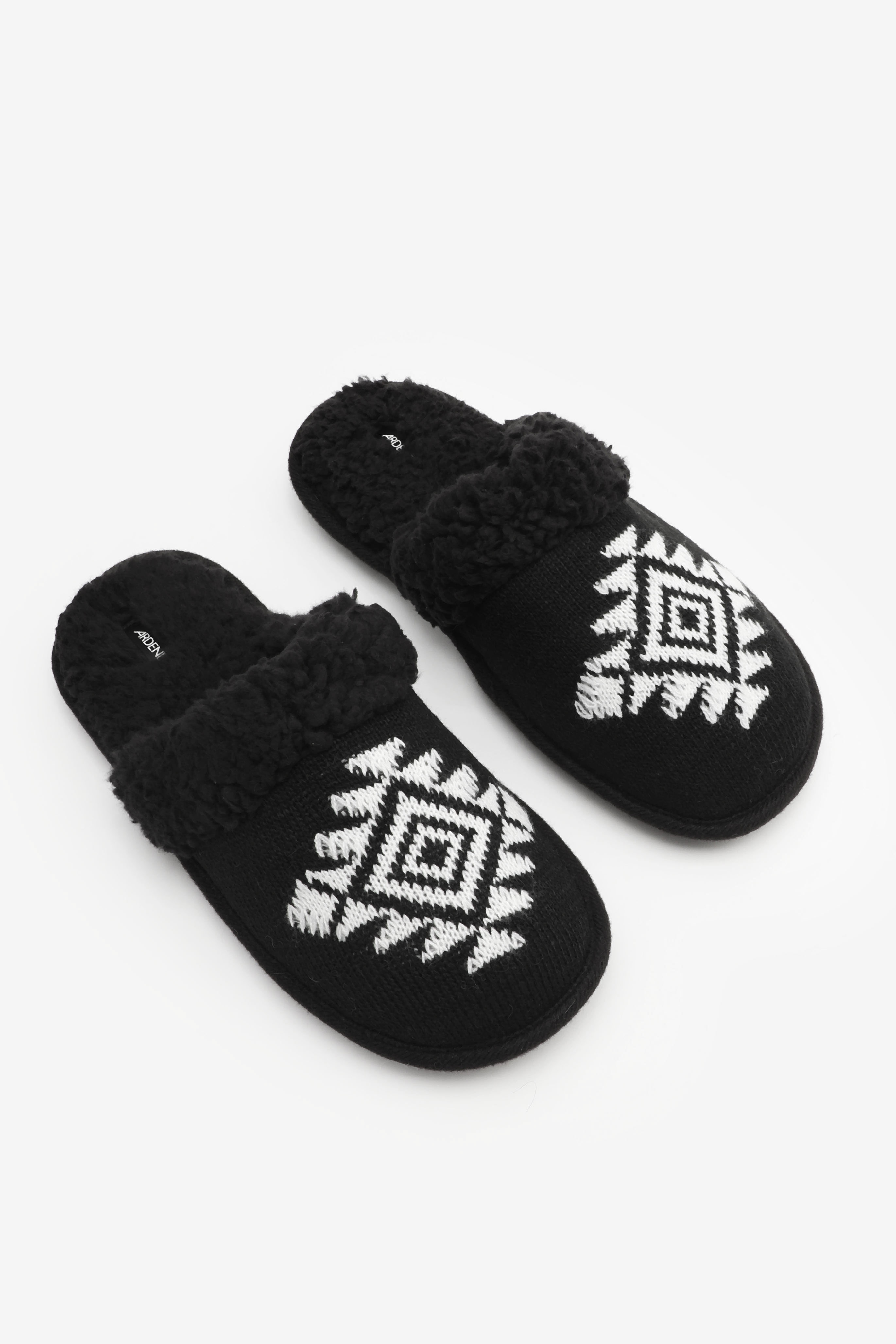 Pantoufles glissières aztèque