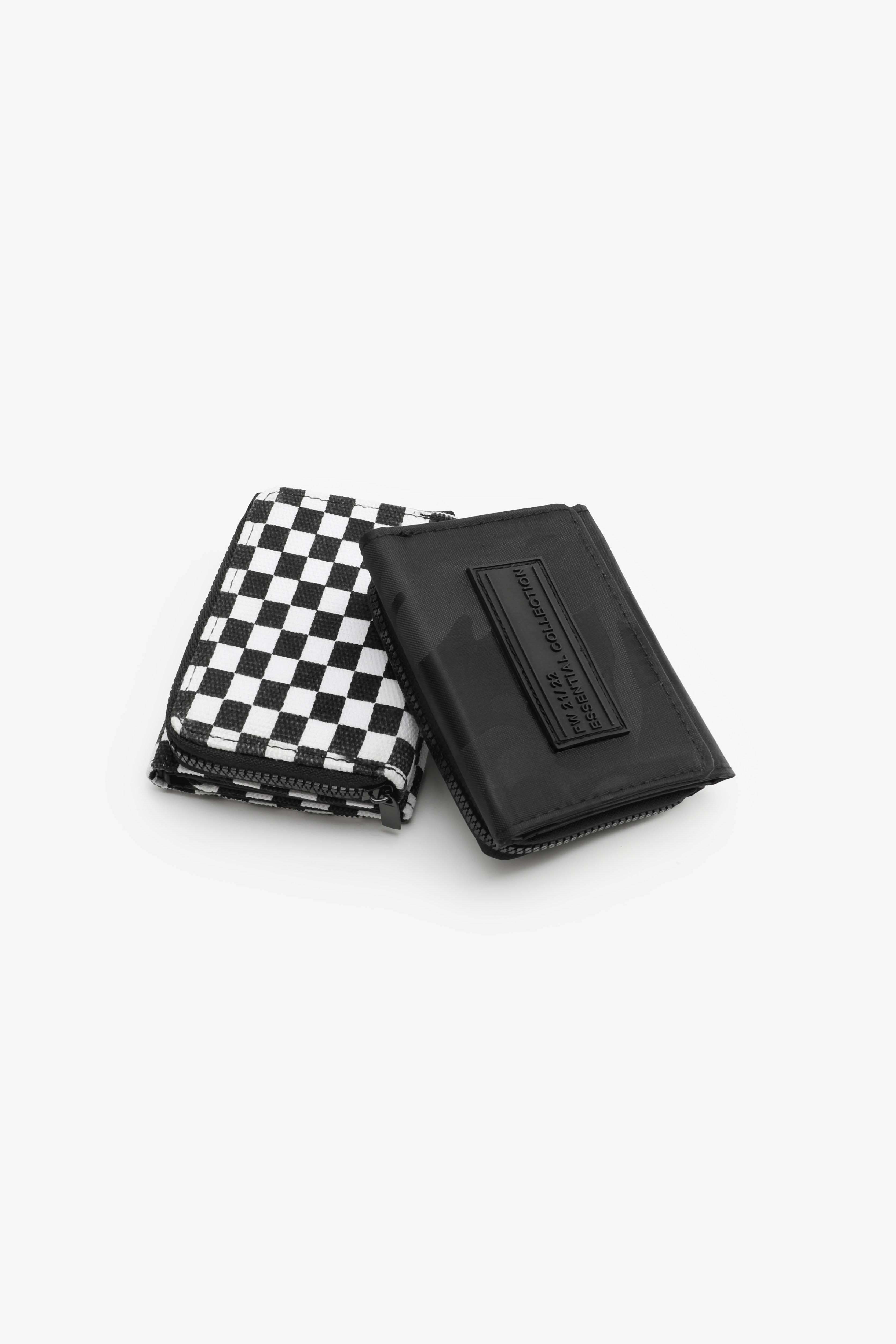 Black Camo Wallet