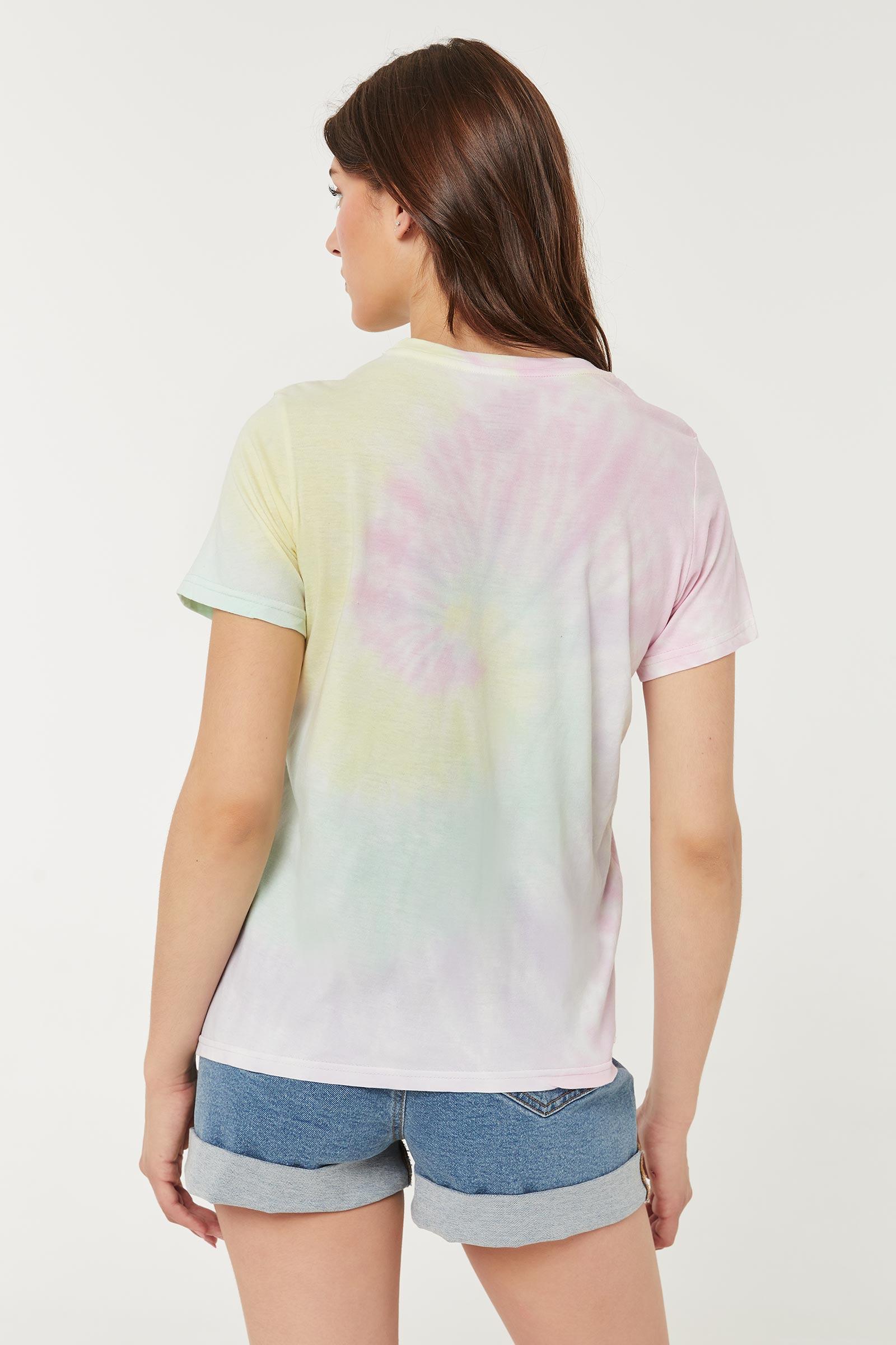 T-shirt Les Supers Nanas tie-dye