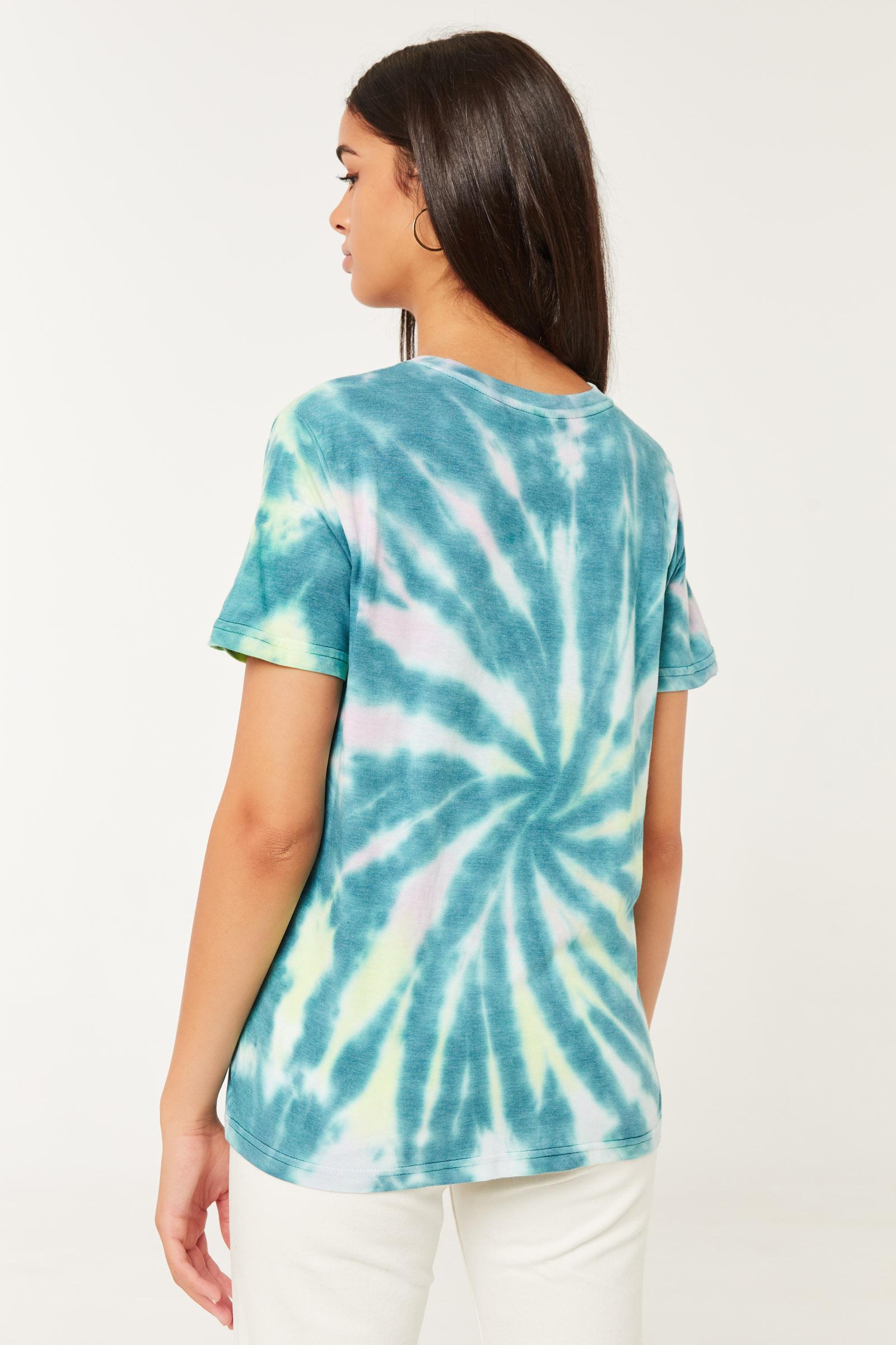 T-shirt tie-dye Rolling Stones