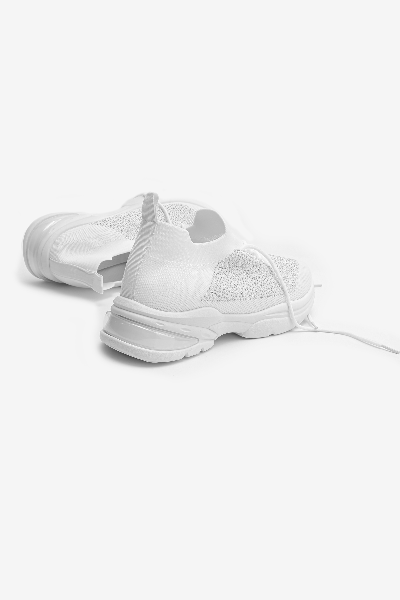 Rhinestone Running Shoes