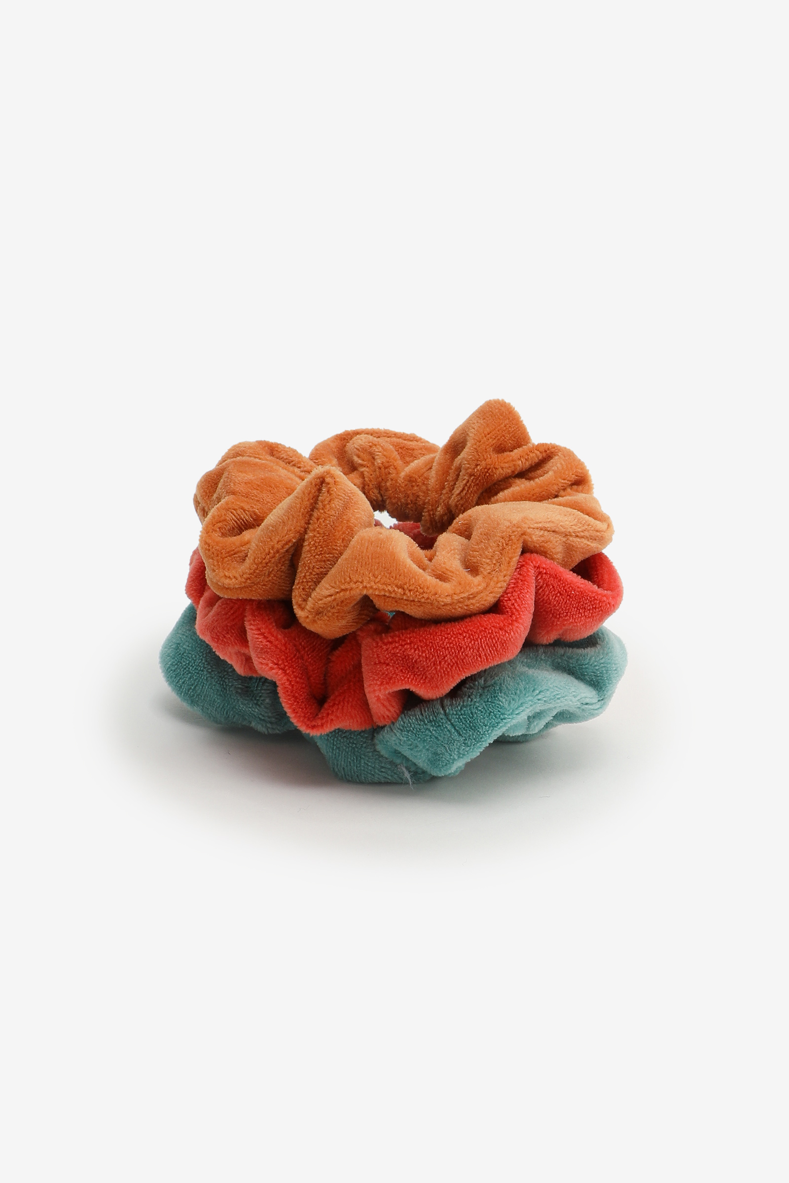 3-Pack of Fuzzy Scrunchies