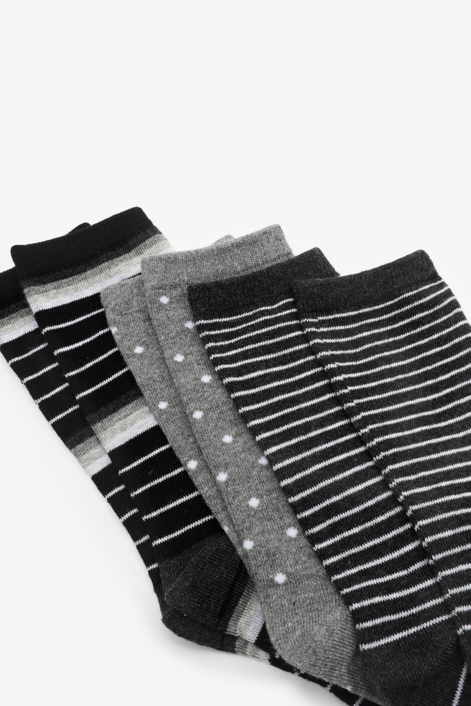 Pack of Cotton Crew Socks