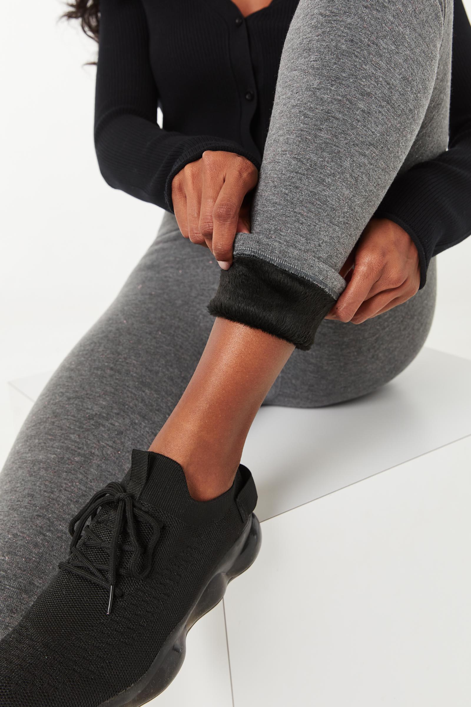 Faux Fur Inside Seamless Leggings