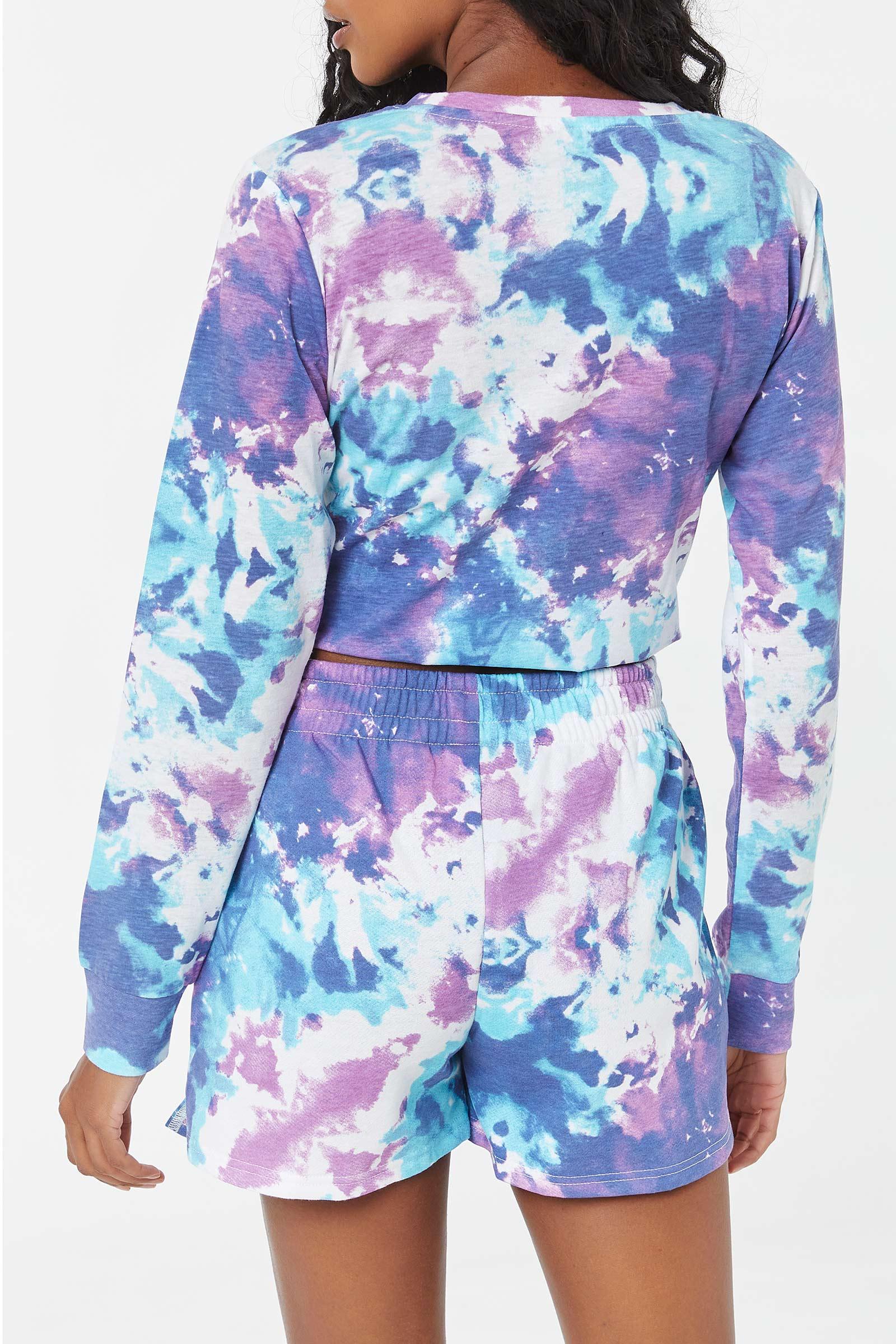 Multi-Dye Stitch Shorts