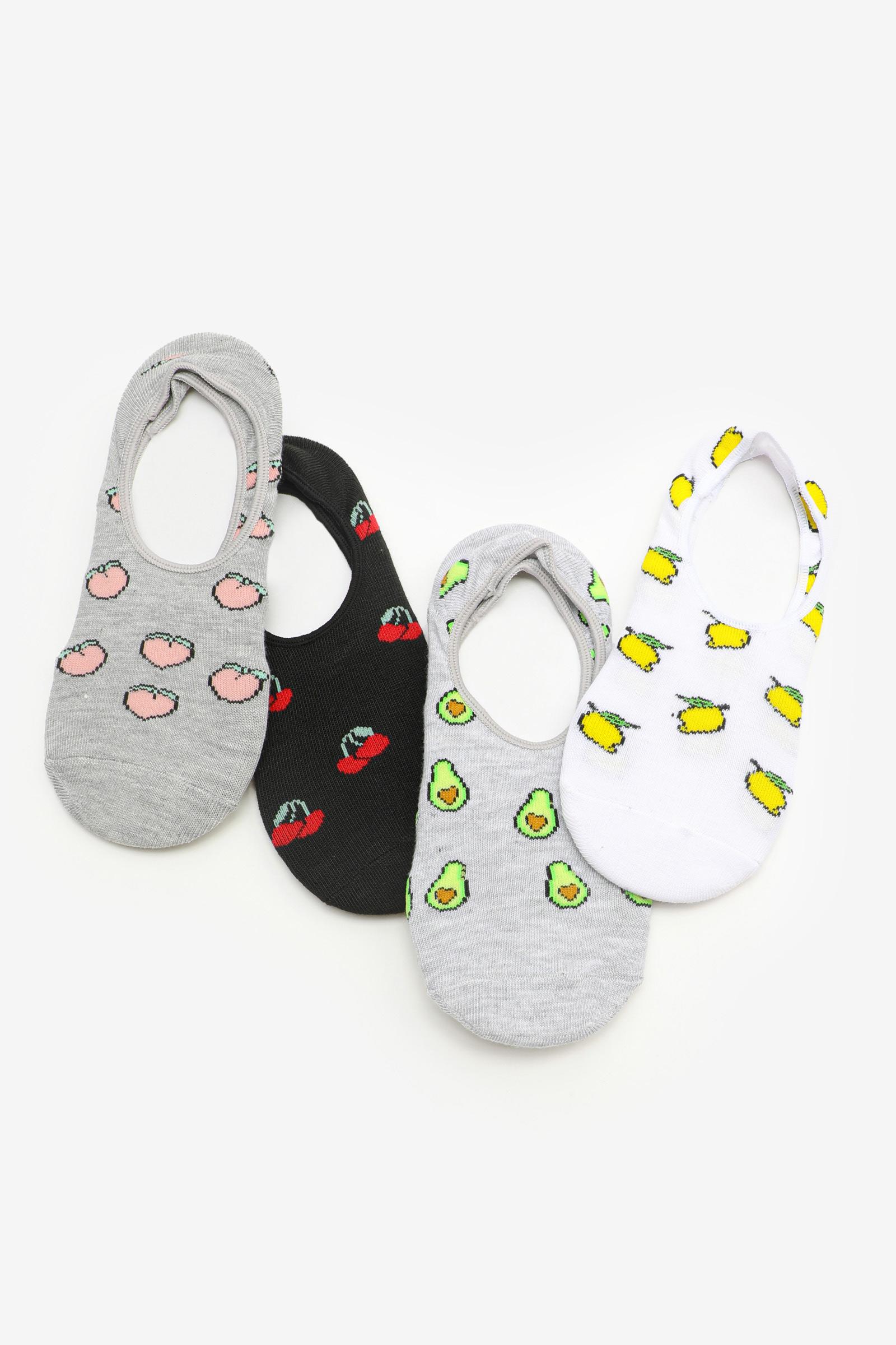 Mini-socquettes à imprimé de fruits