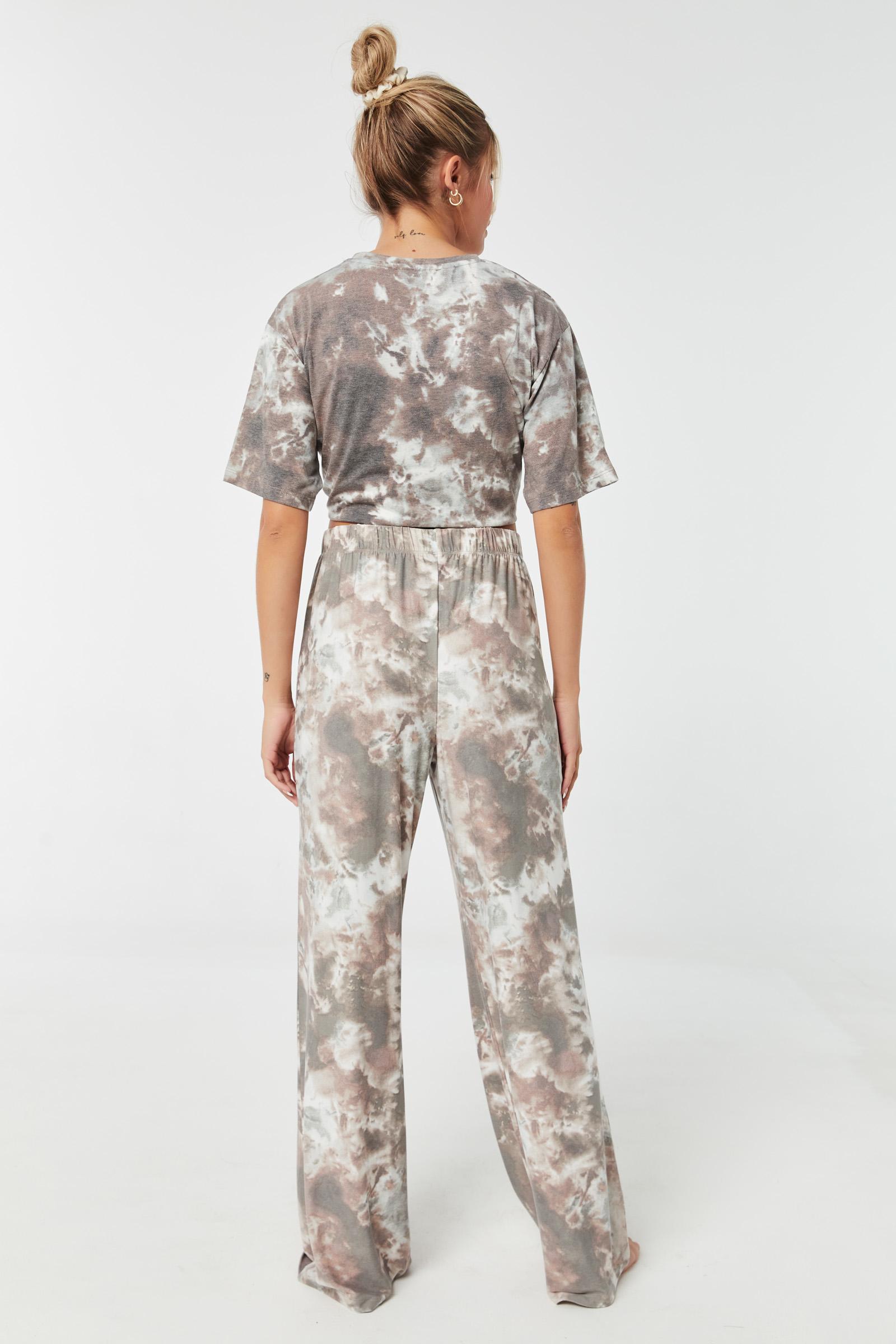 Tie-Dye Lounge Flared PJ Pants