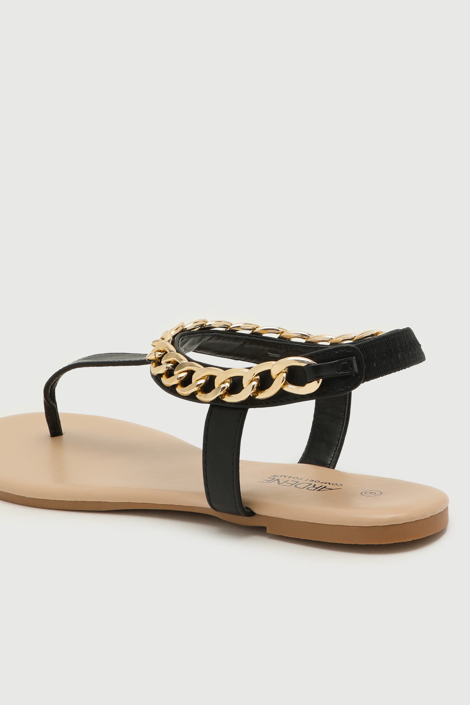 Chain Ankle Strap Sandals