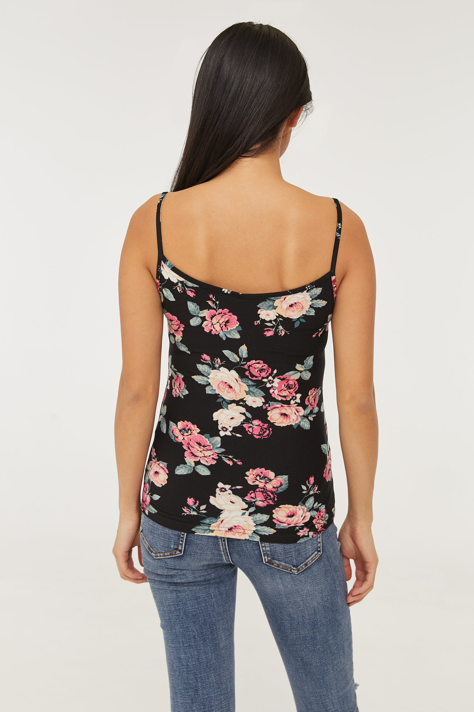 Basic Softie Floral Tank Top