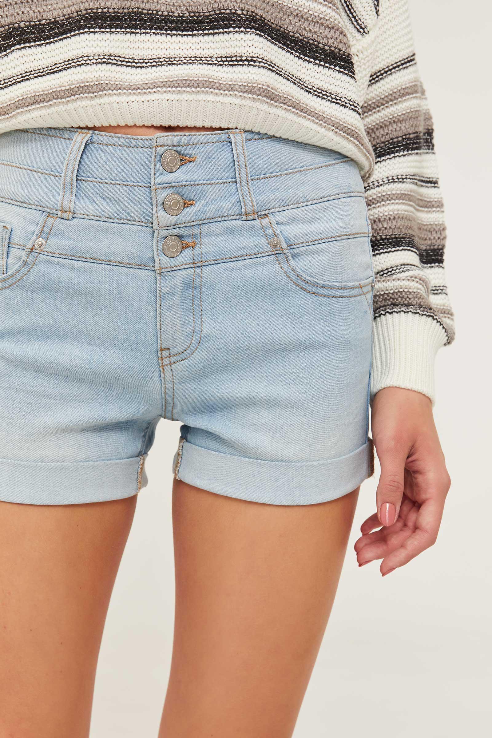 Eco-Conscious Denim Shorts
