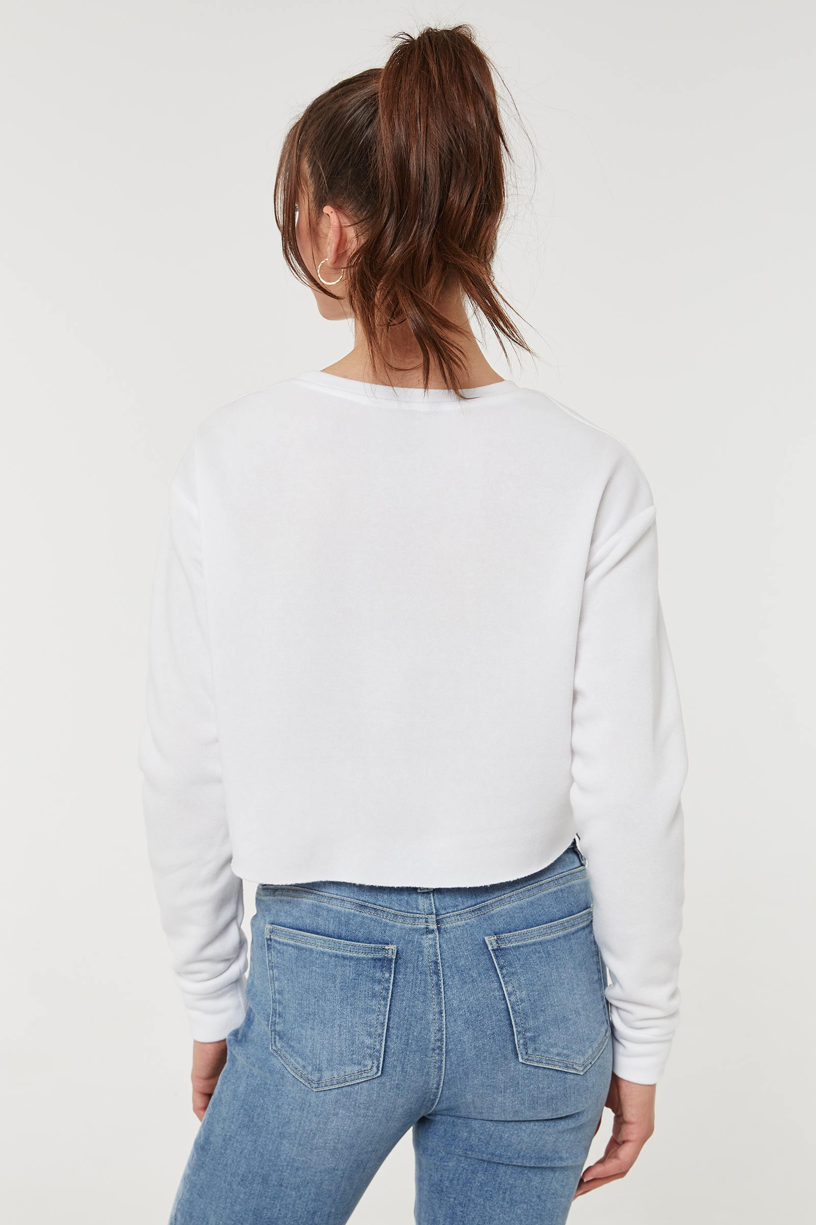 Selfie Cropped Sweater