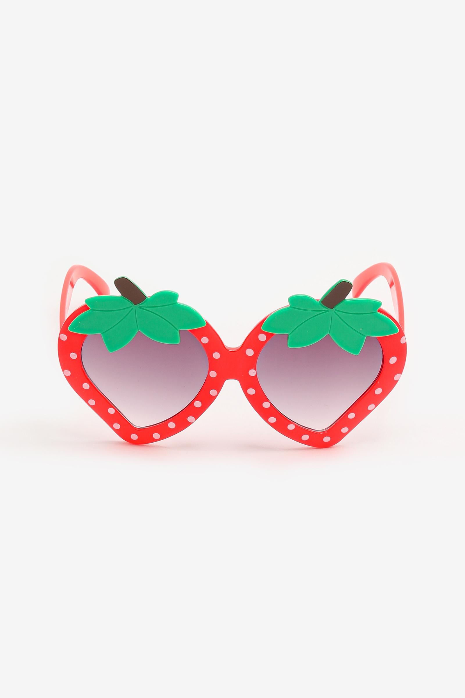 Lunettes soleil en fraise pour enfants