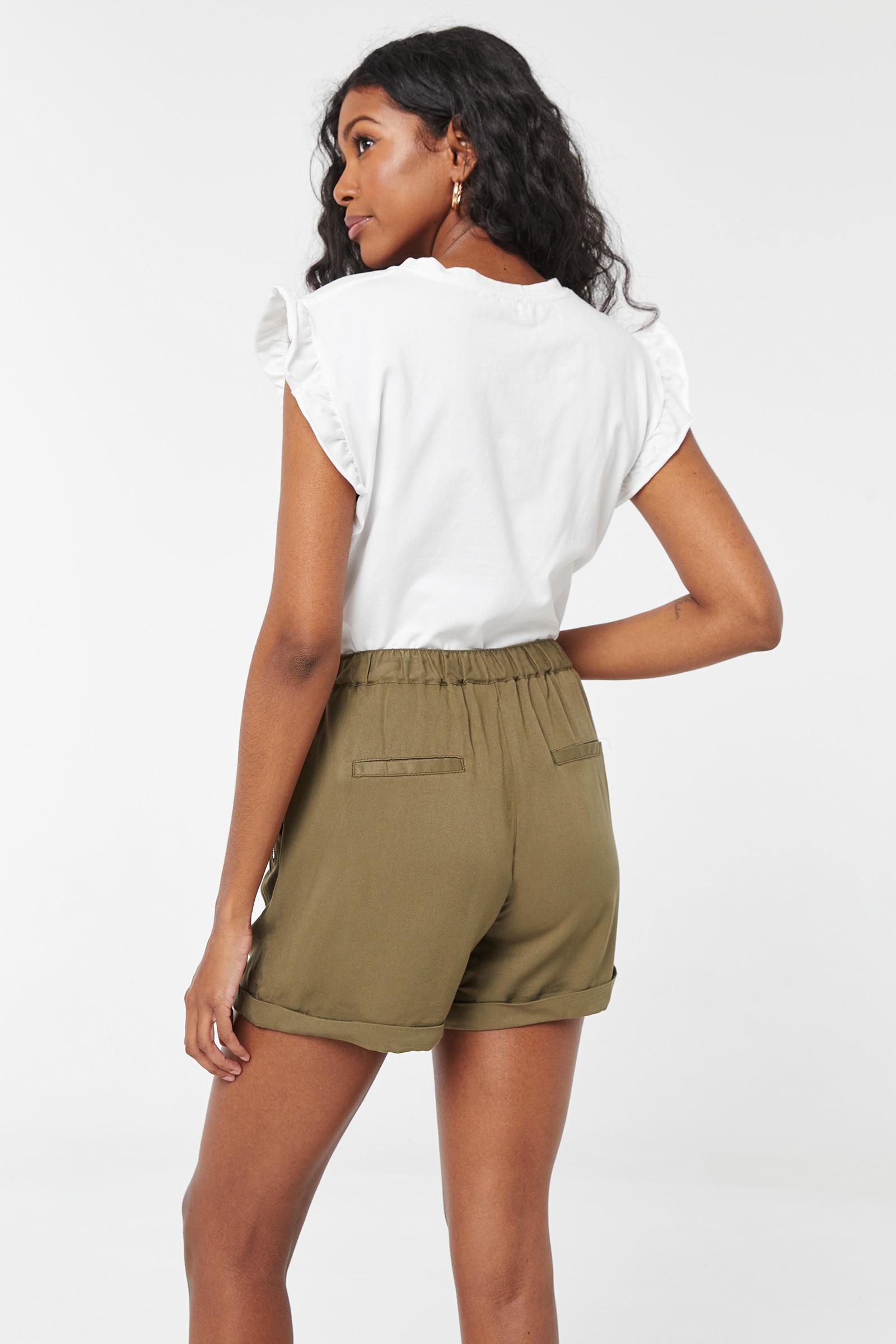 Short à poche à zip